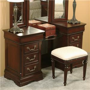 davis international regency vanity and bench