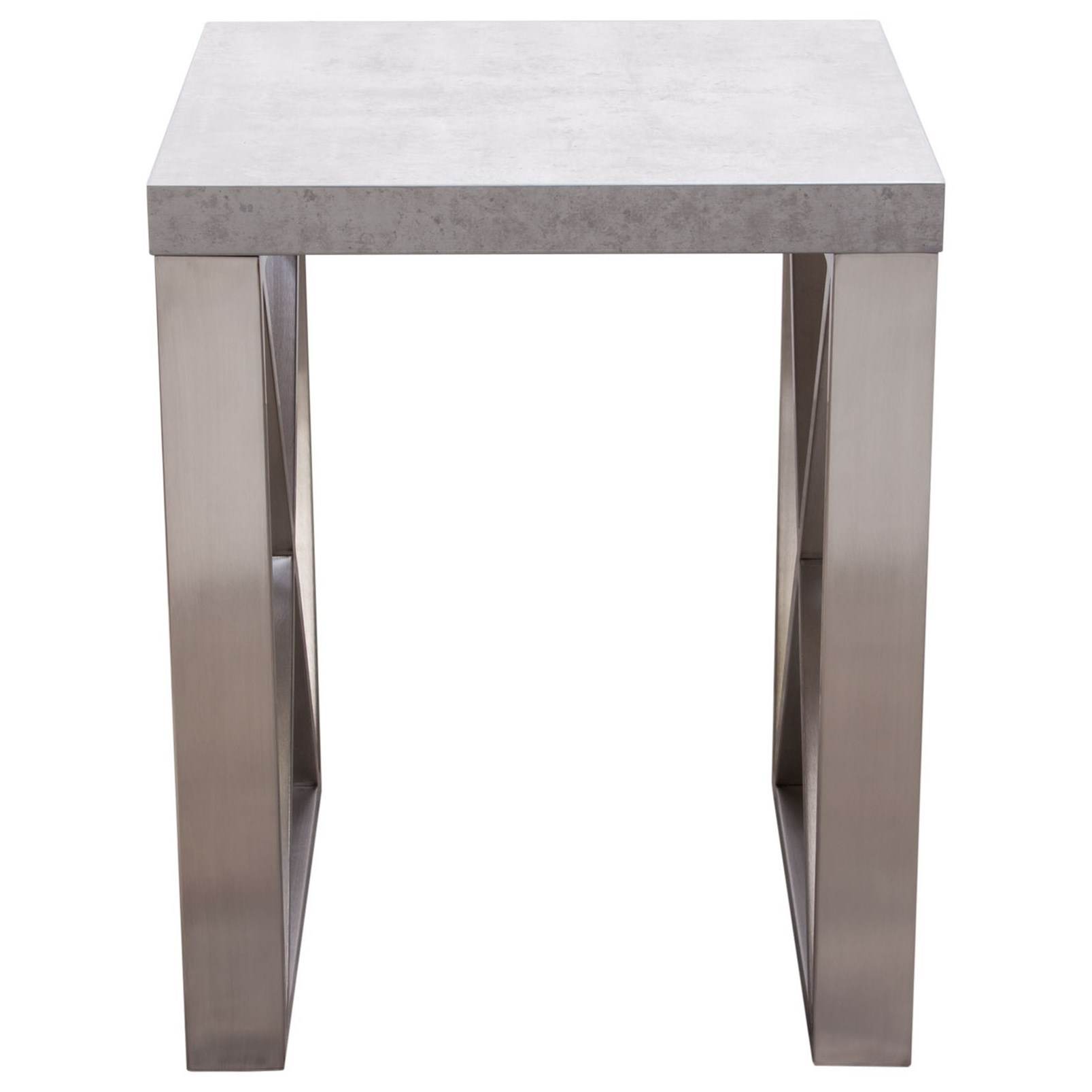 Diamond sofa carrera tables end table red knot end tables for Table carrera