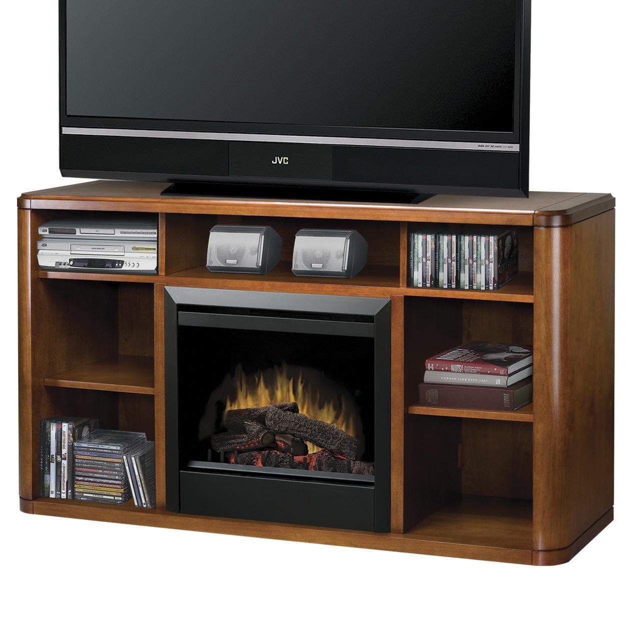 Dimplex Media Console Fireplaces DFP4974BW Logan Media