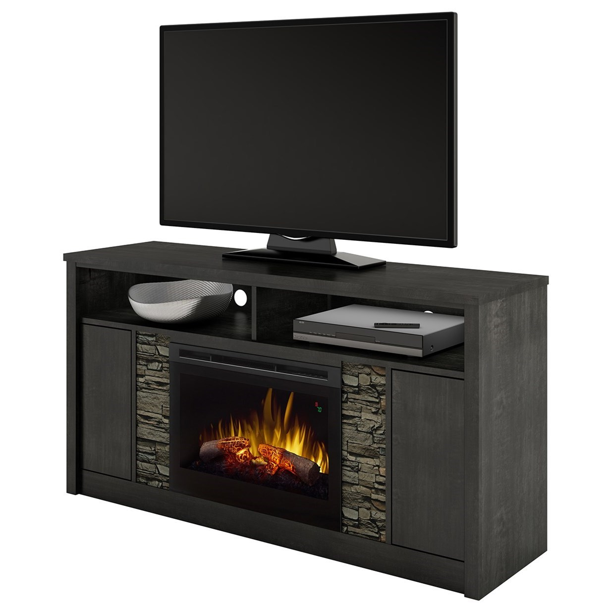 dimplex media console fireplaces caroline media mantel fireplace