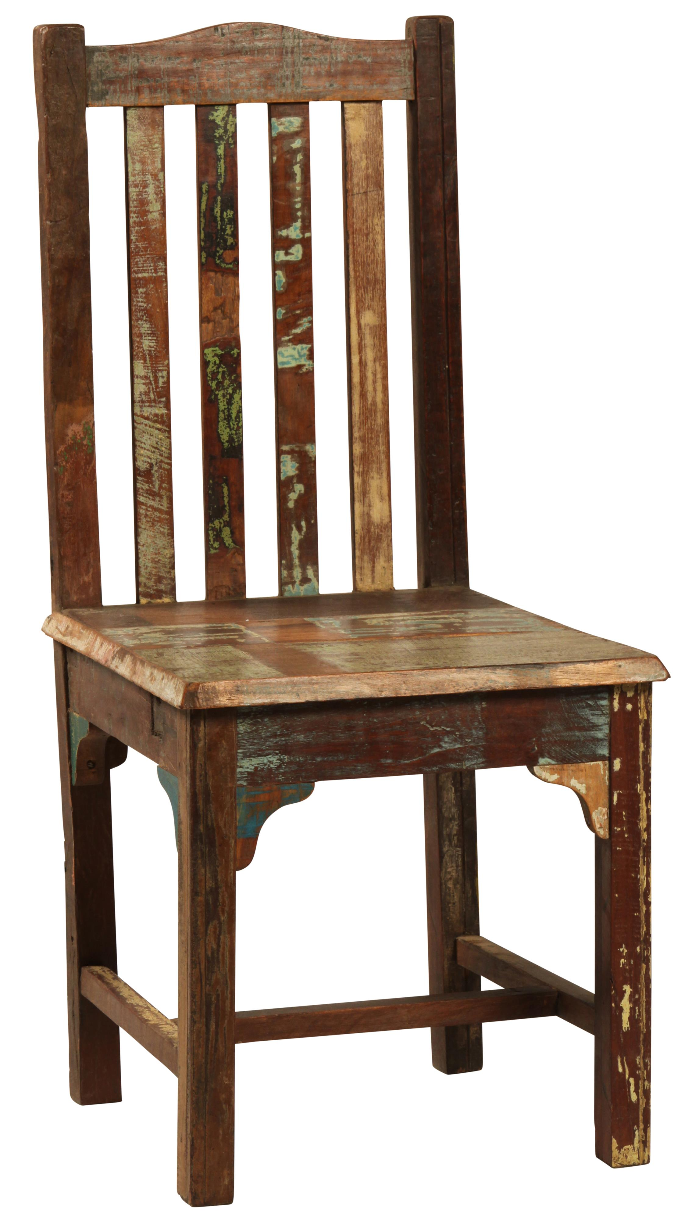 Dovetail Furniture Dovetail Dining Side Chair W Slat Back
