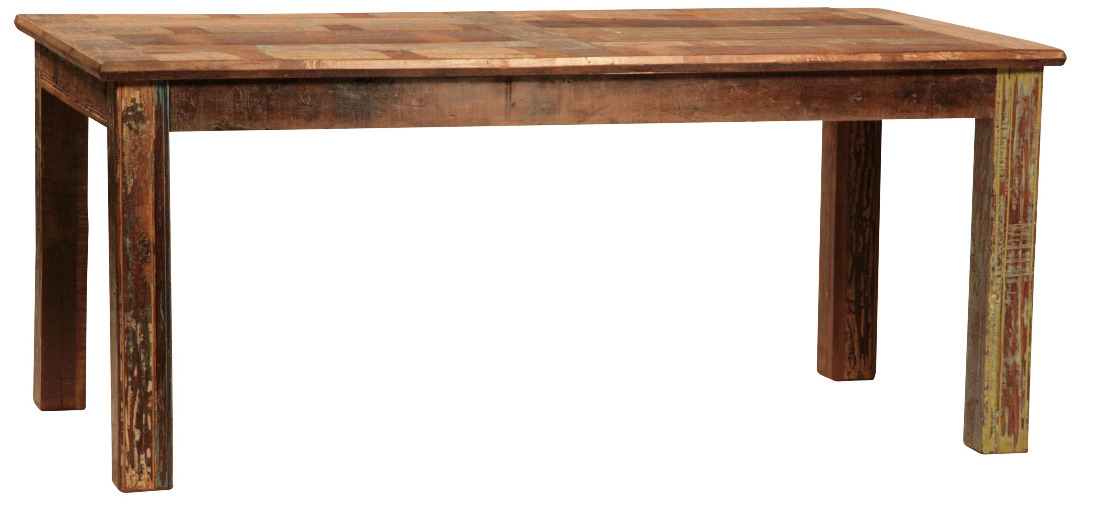 Dovetail Furniture Dovetail Rectangular Dining Leg Table