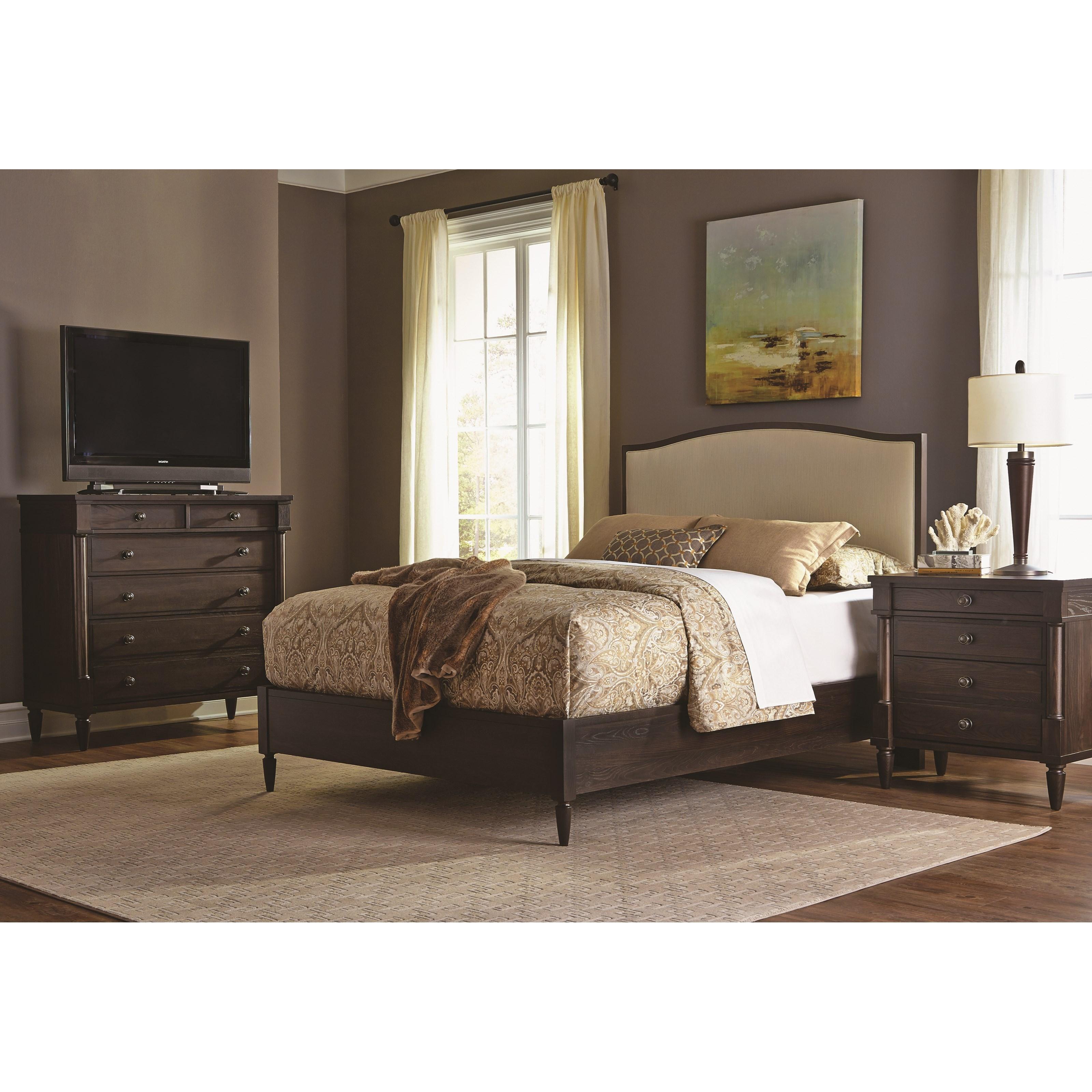Durham blairhampton queen bedroom group stoney creek for Stoney creek bedroom set