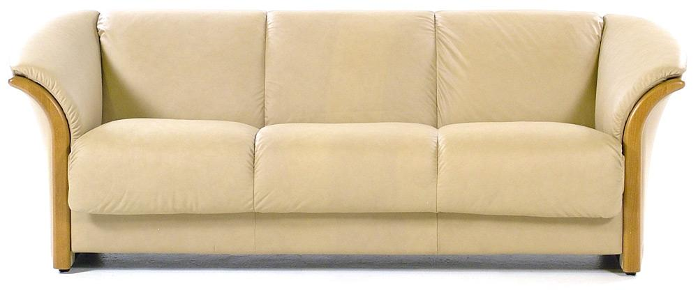Ekornes manhattan sofa ekornes manhattan leather ergonomic for Sand leather sofa