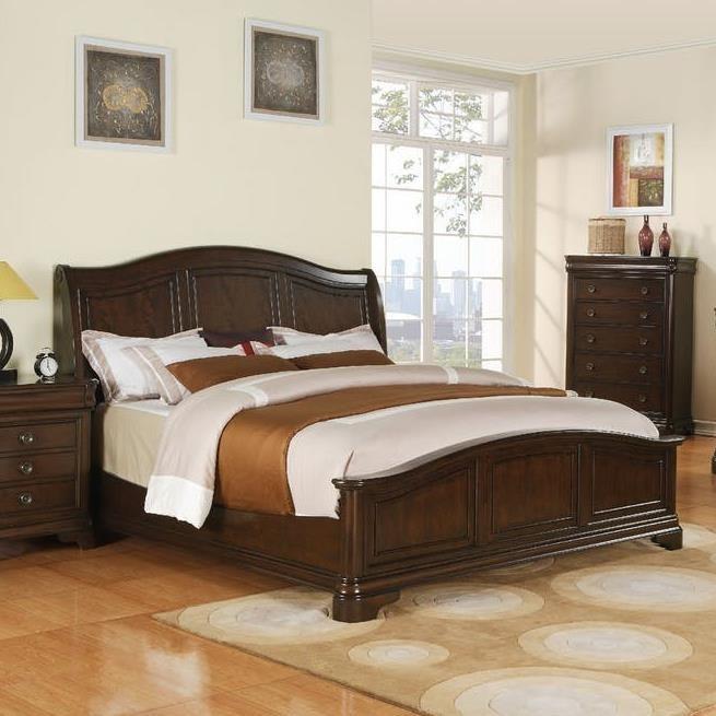 elements international cameron cm750ckb california king low profile bed beck 39 s furniture. Black Bedroom Furniture Sets. Home Design Ideas