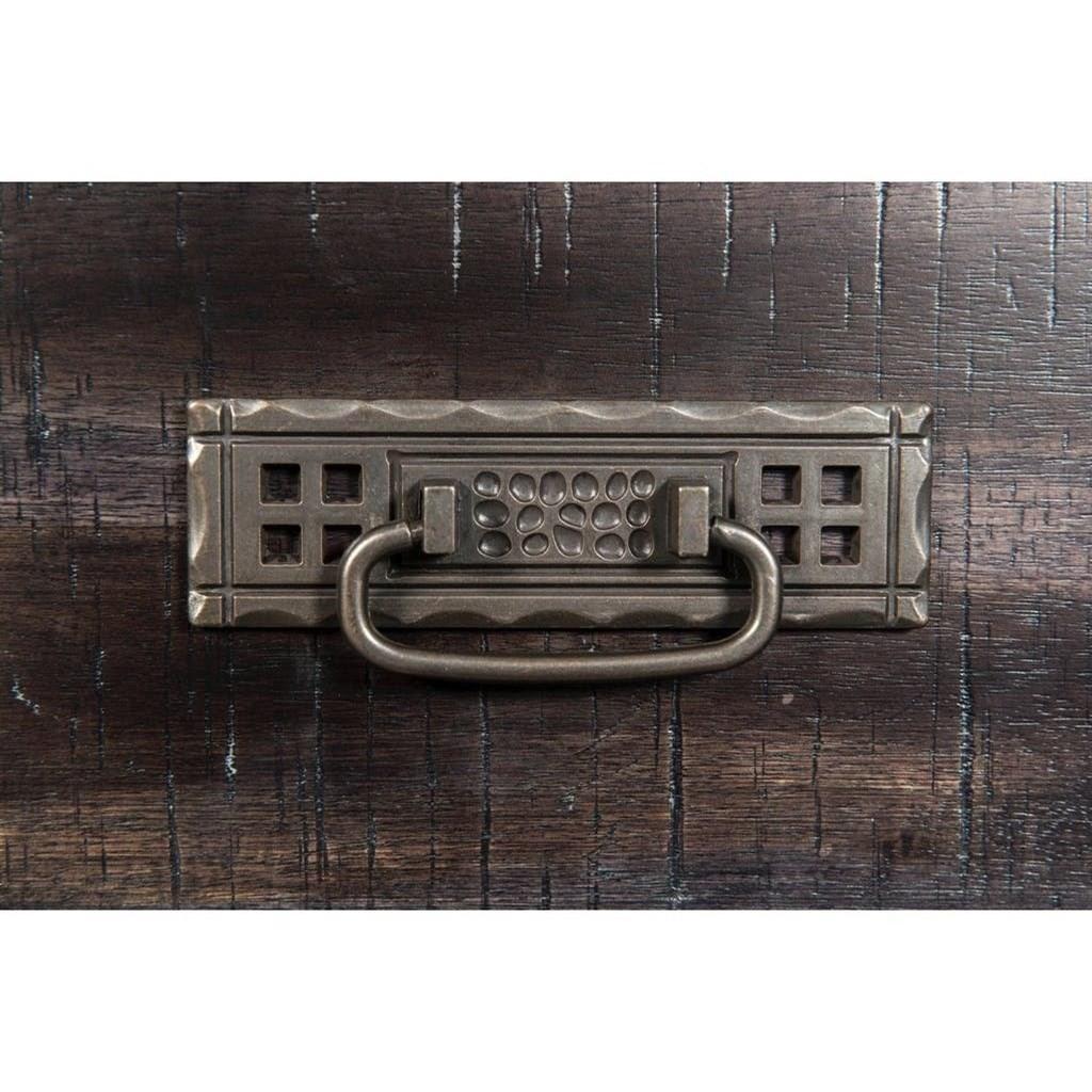 Elements International Morrison Mo600dr Grey Dresser With Dentil Molding Furniture Superstore