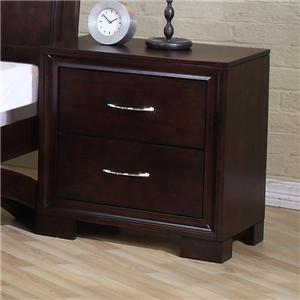 Elements International Raven King Bed Dresser Mirror