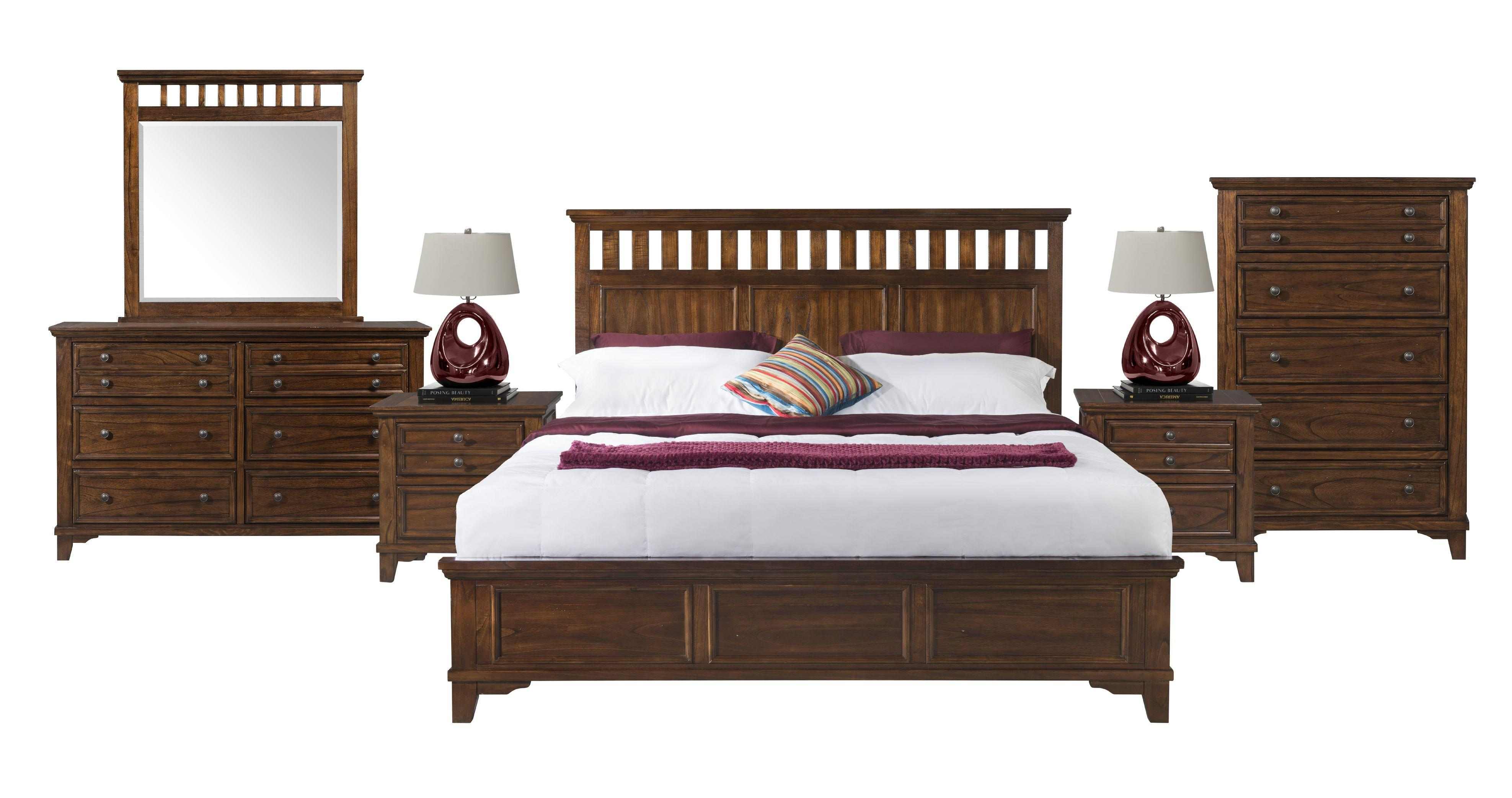 Elements International Woodlands Wd600dr Dresser With Eight Dovetail Drawers Furniture