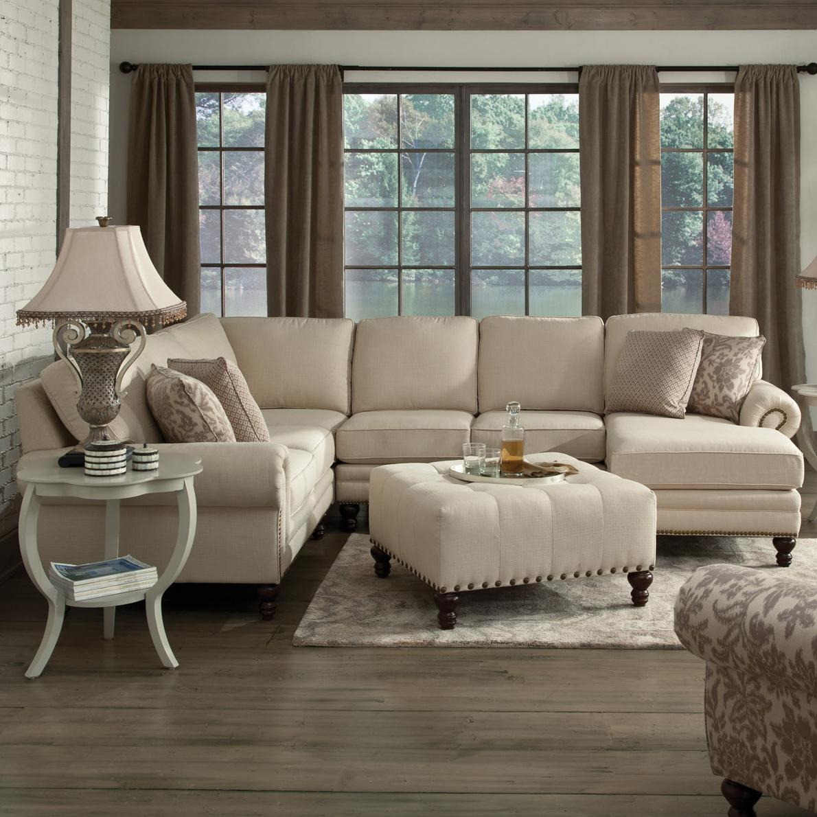 England amix six seat sectional with right chaise dunk for 6 seat sectional sofa