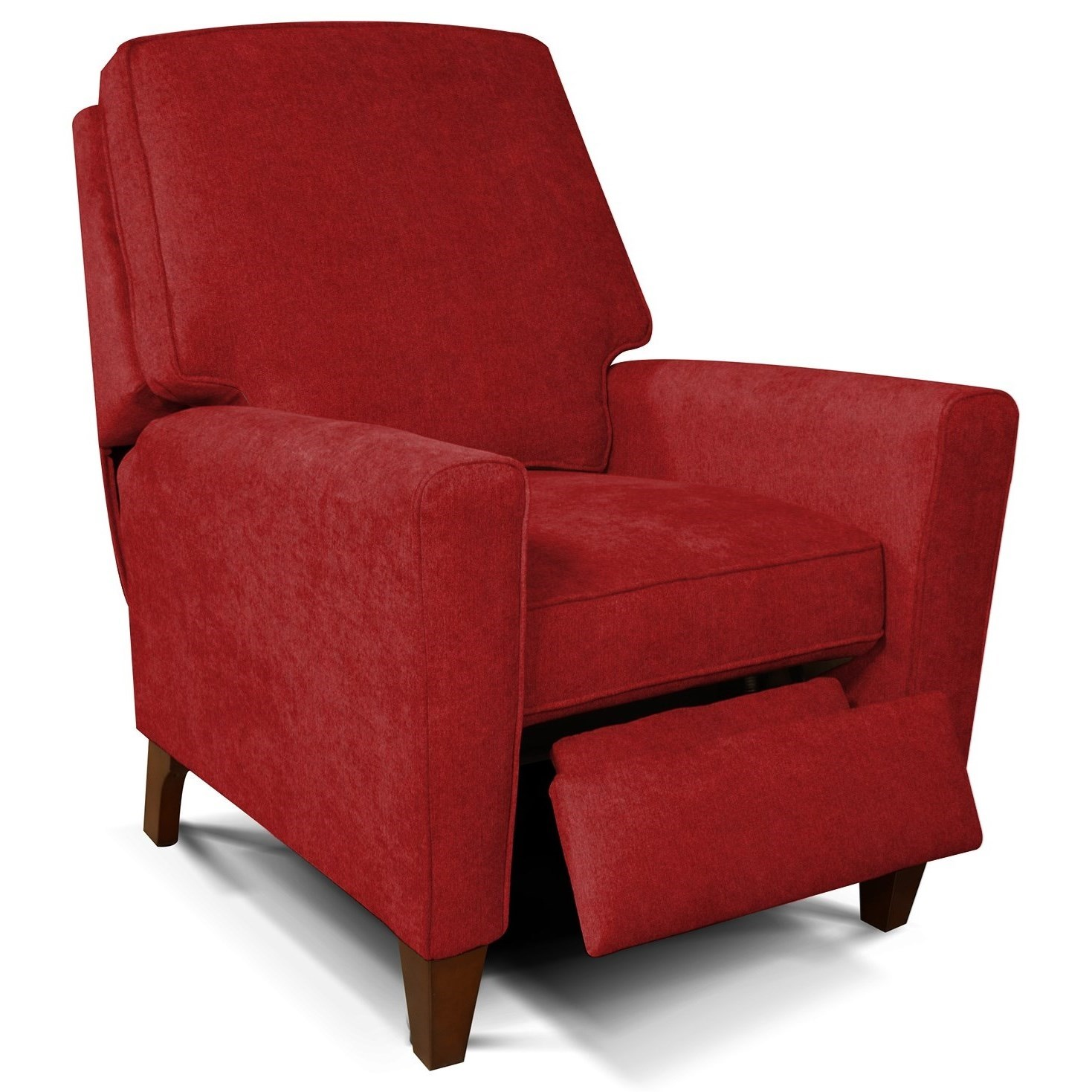 England Collegedale Living Room Motion Chair With Wooden Legs Prime Brothers Furniture High