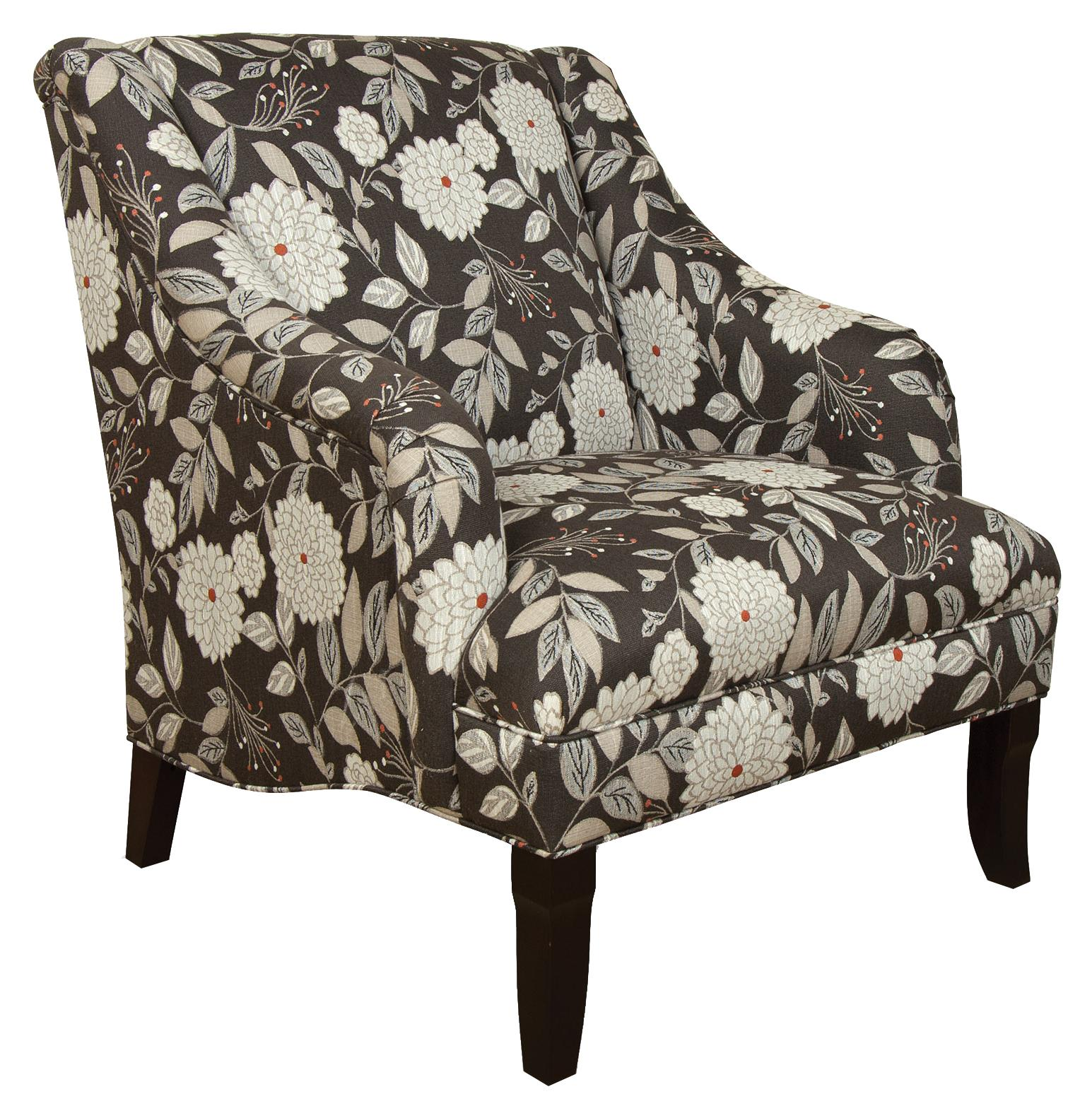 England Kinnett 3934 Living Room Arm Chair with Formal ...