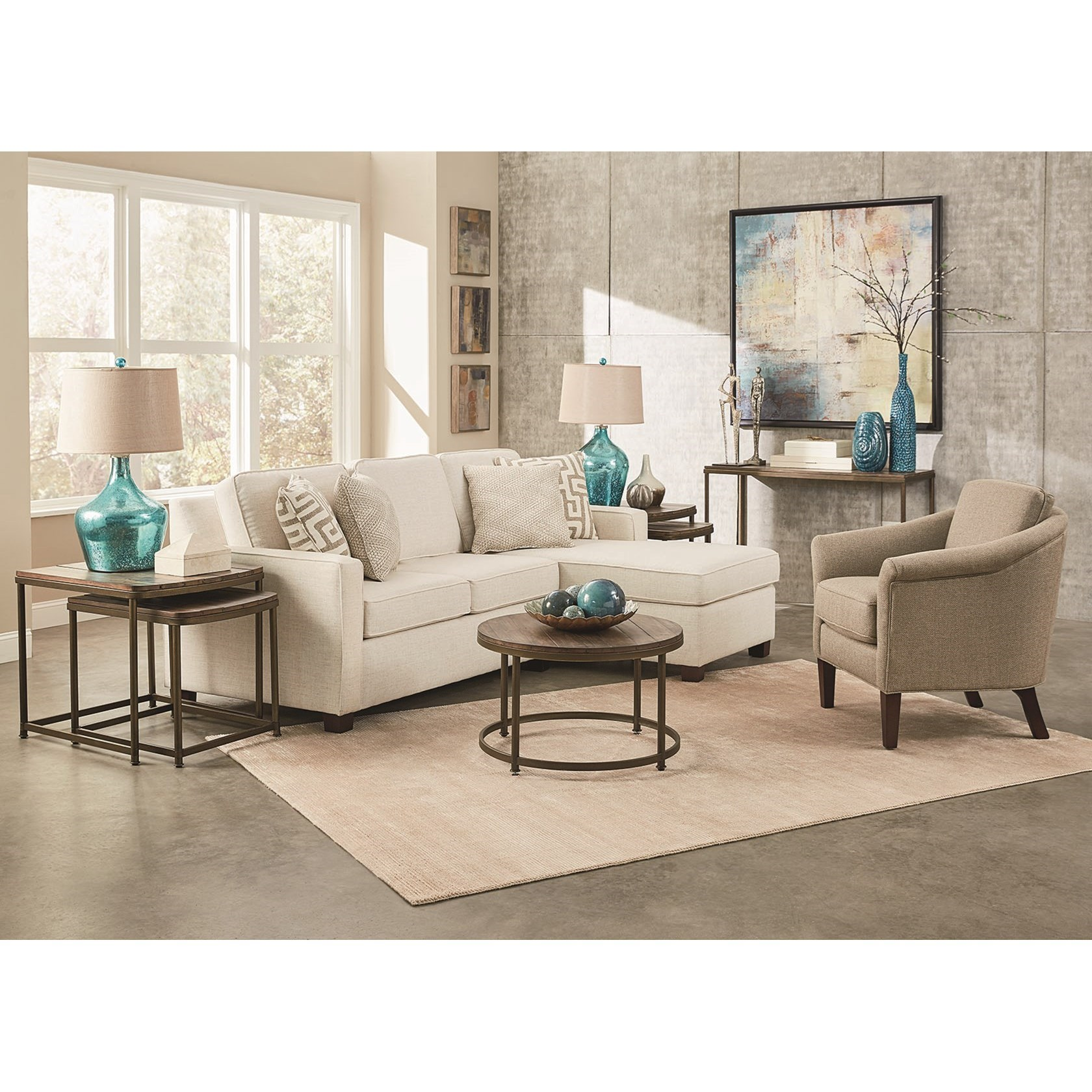 England Metromix River West Sofa With Chaise Colder 39 S Furniture And Appliance Sofa Sectional