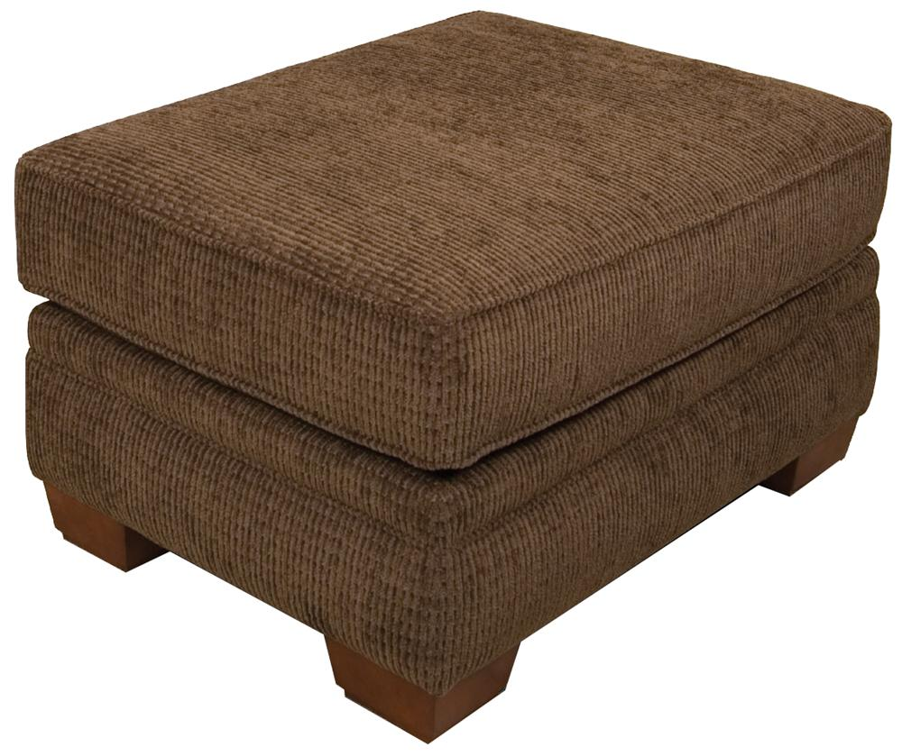 England monroe traditional upholstered ottoman furniture for Furniture options