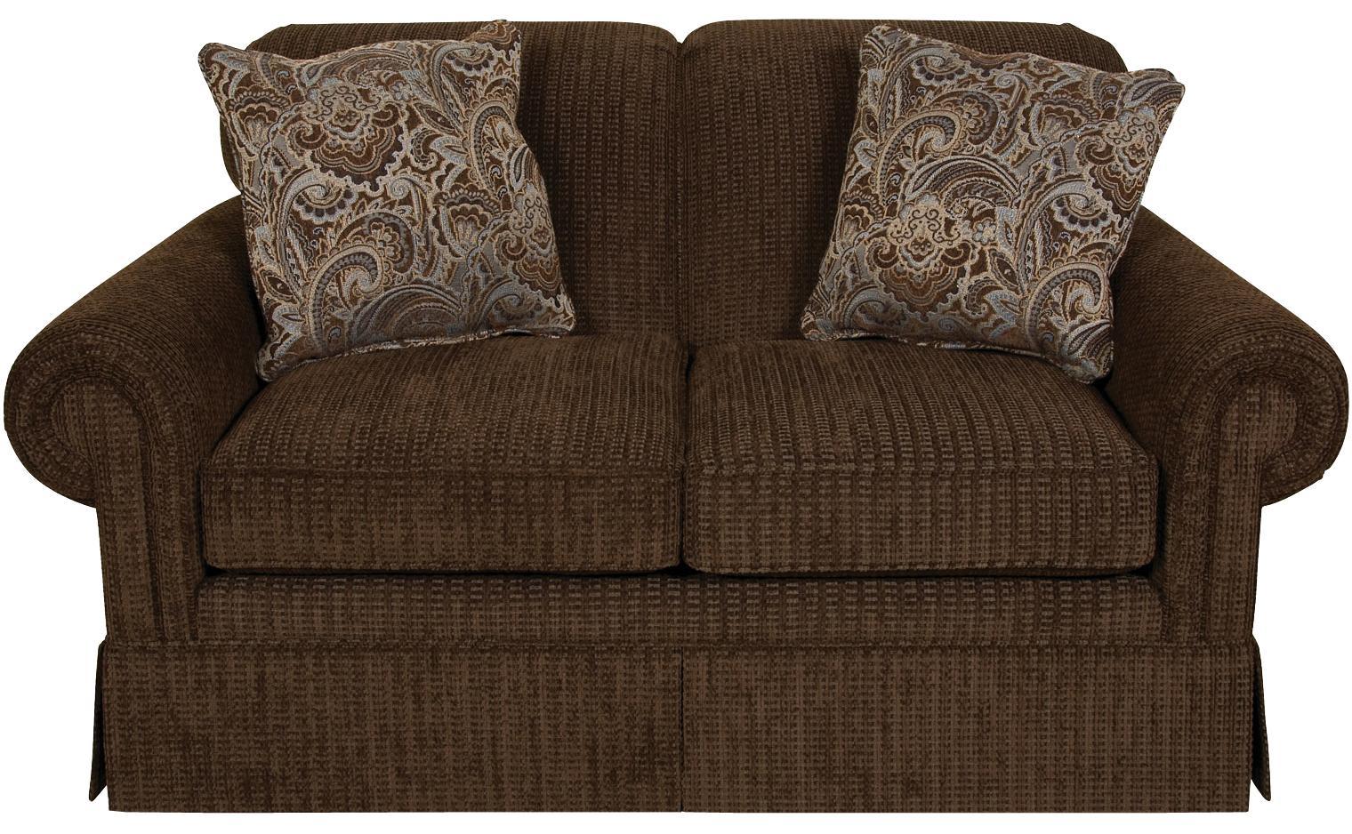 England Nancy Classic Upholstered Loveseat Furniture