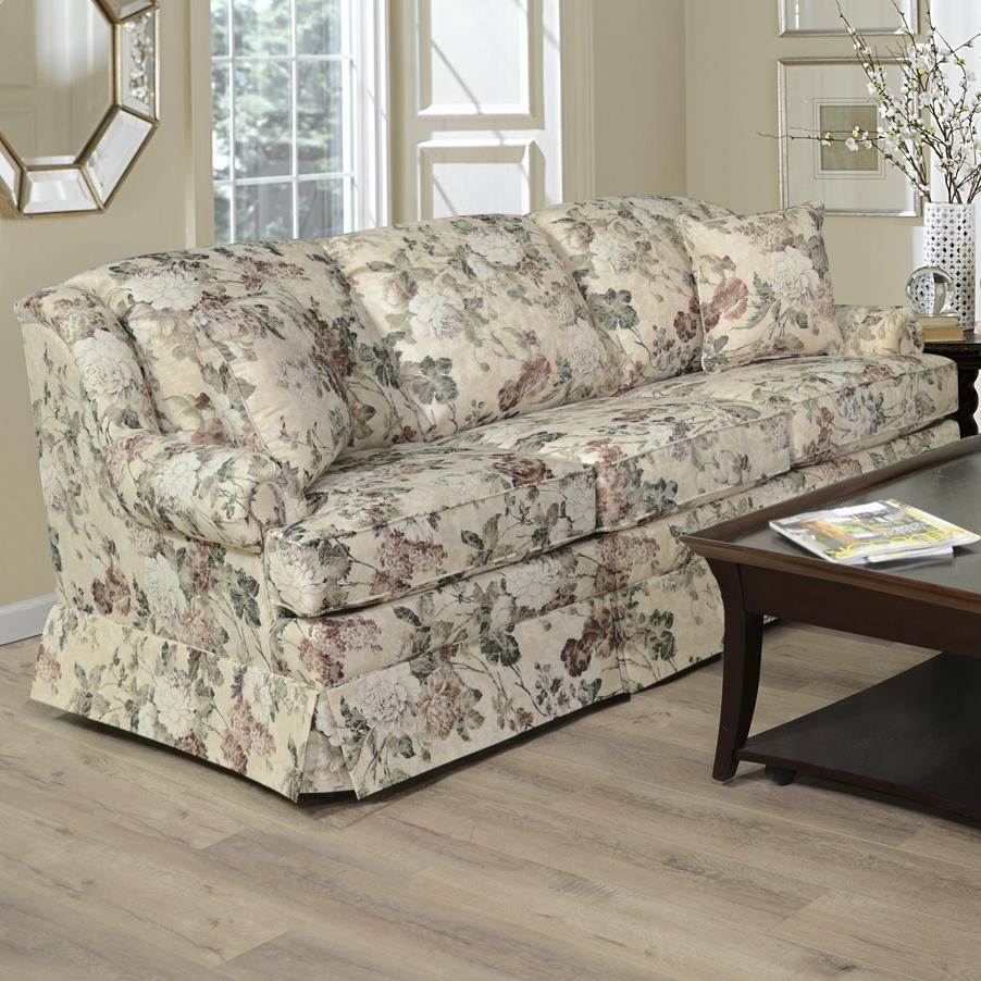 England Rochelle Skirted Sofa Vandrie Home Furnishings Sofas