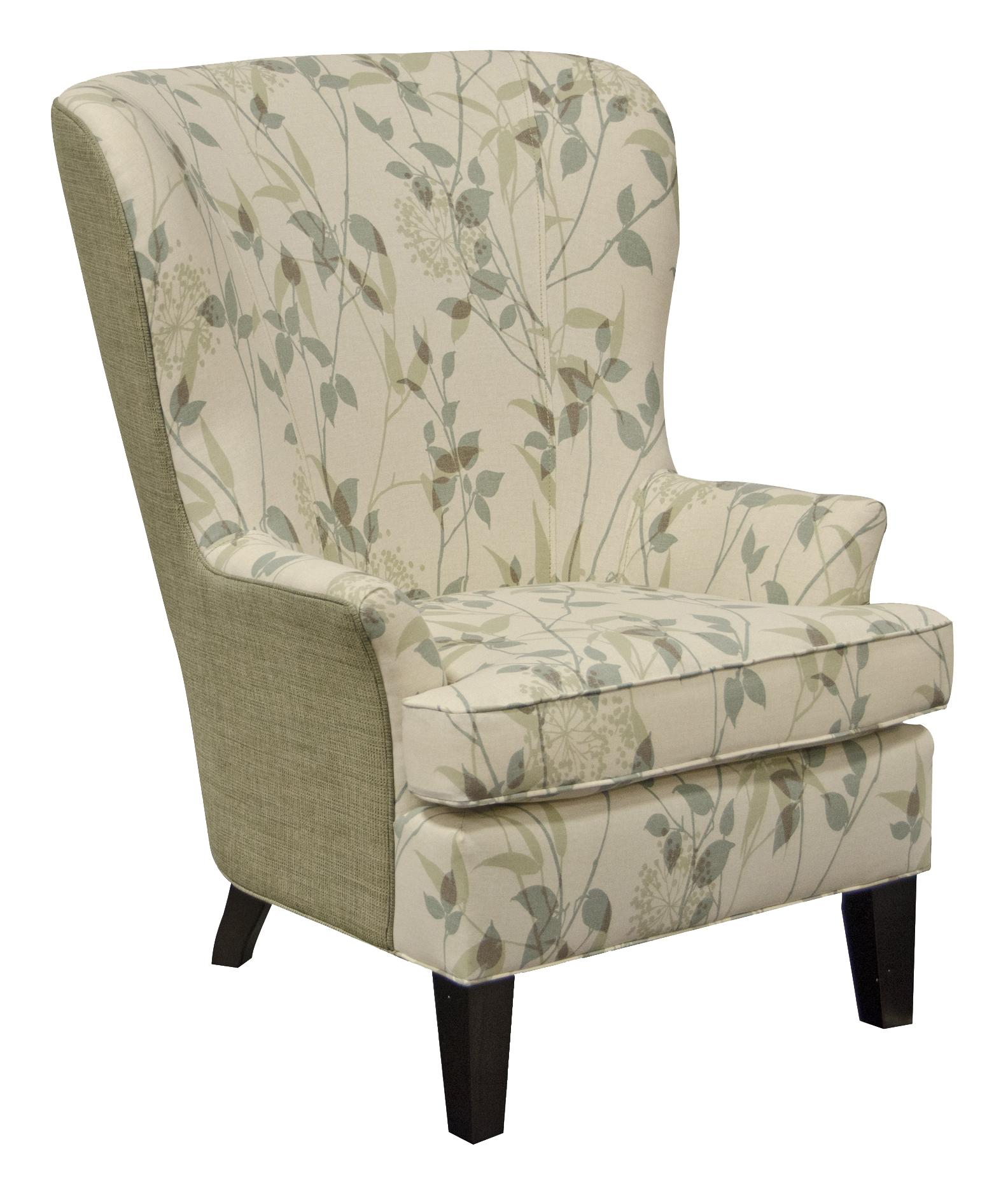 England Smith Living Room Arm Chair With Wing Style EFO Furniture Outlet