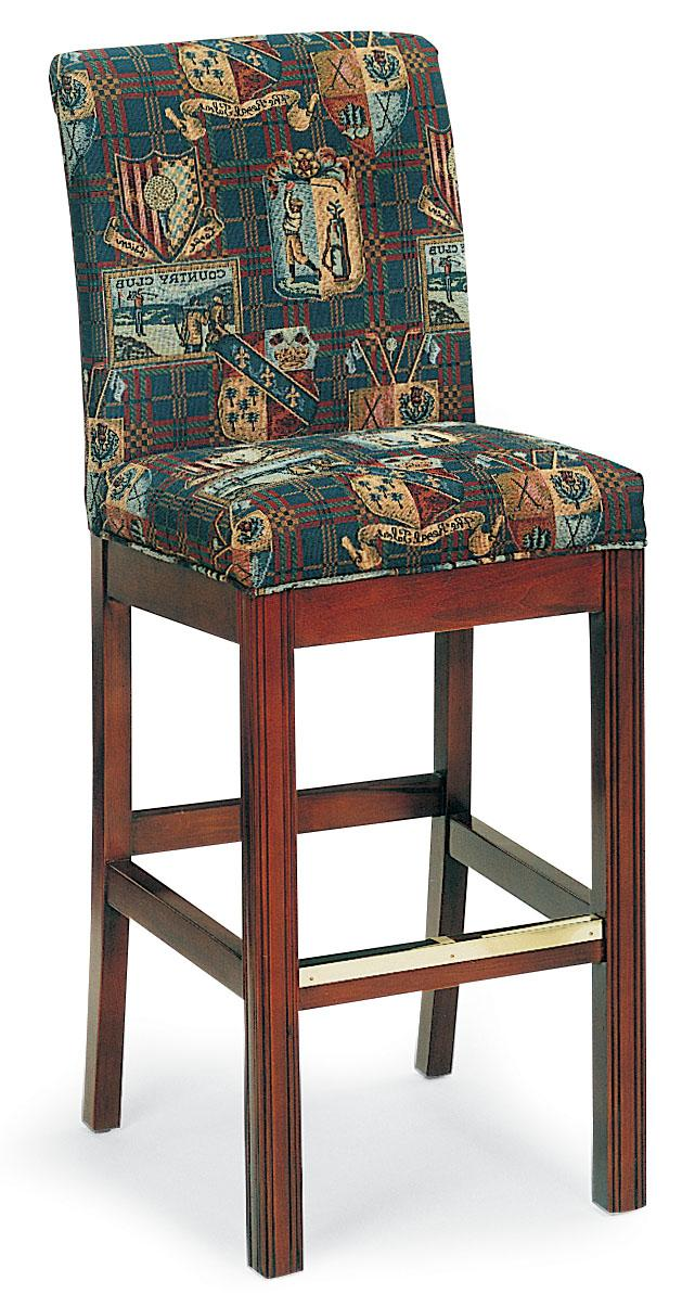 Fairfield Barstools Armless Bar Stool With Chippendale Legs Jacksonville Furniture Mart Bar