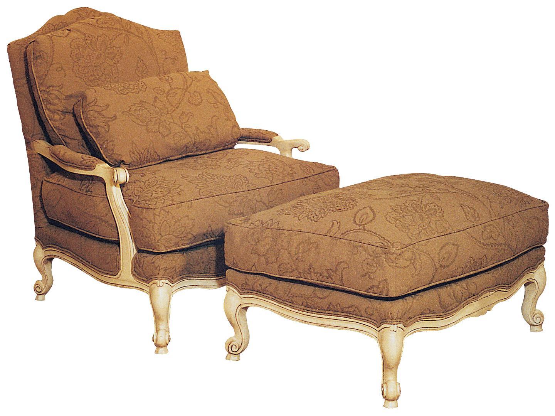 Fairfield Chairs Victorian Lounge Chair Ottoman | Olinde's ...