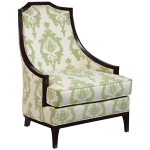 Fairfield Chairs Upholstered Victorian Lounge Chair - AHFA ...
