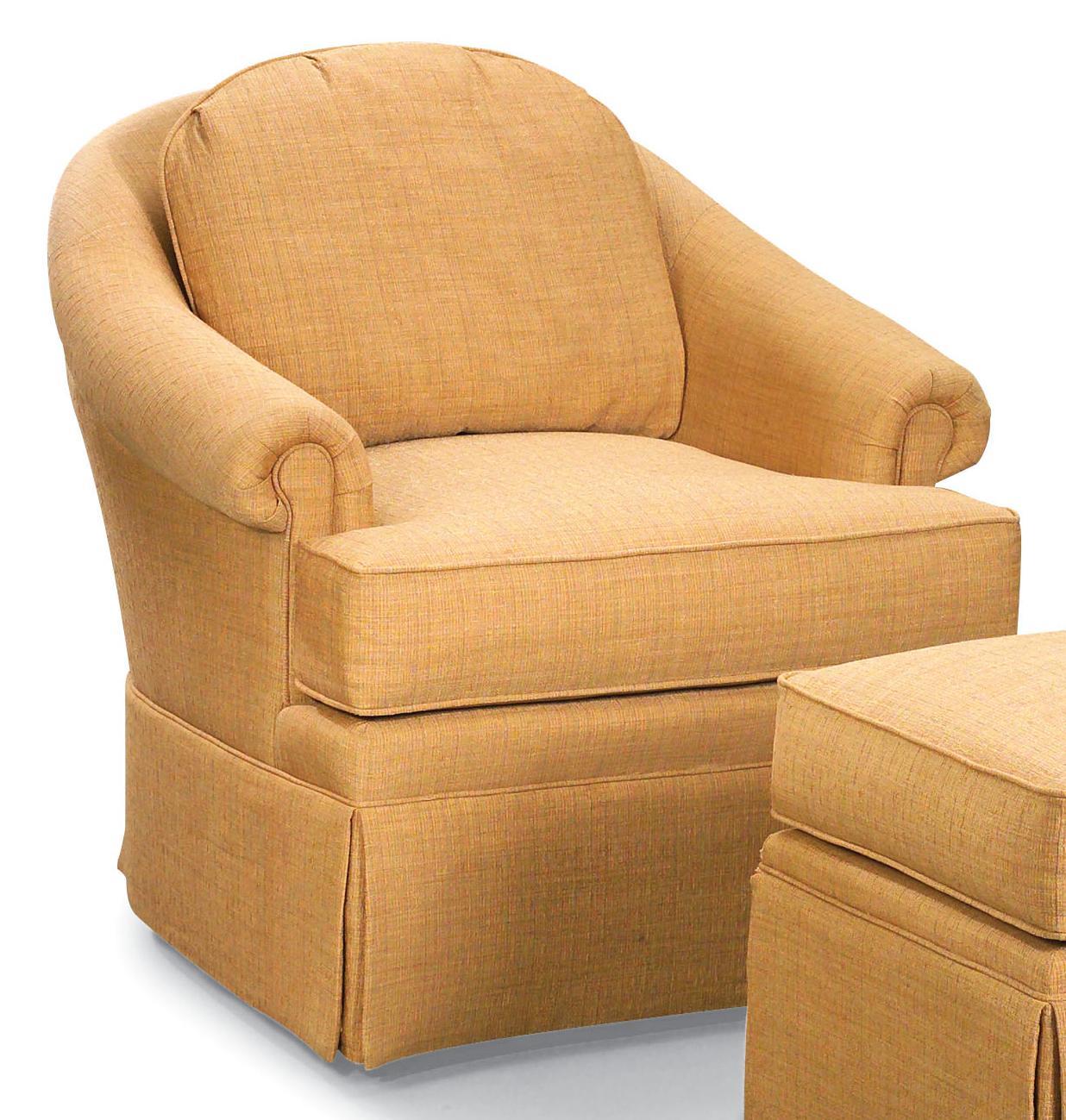 Swivel Accent Chair Bassett Accent Chairs Trent Swivel