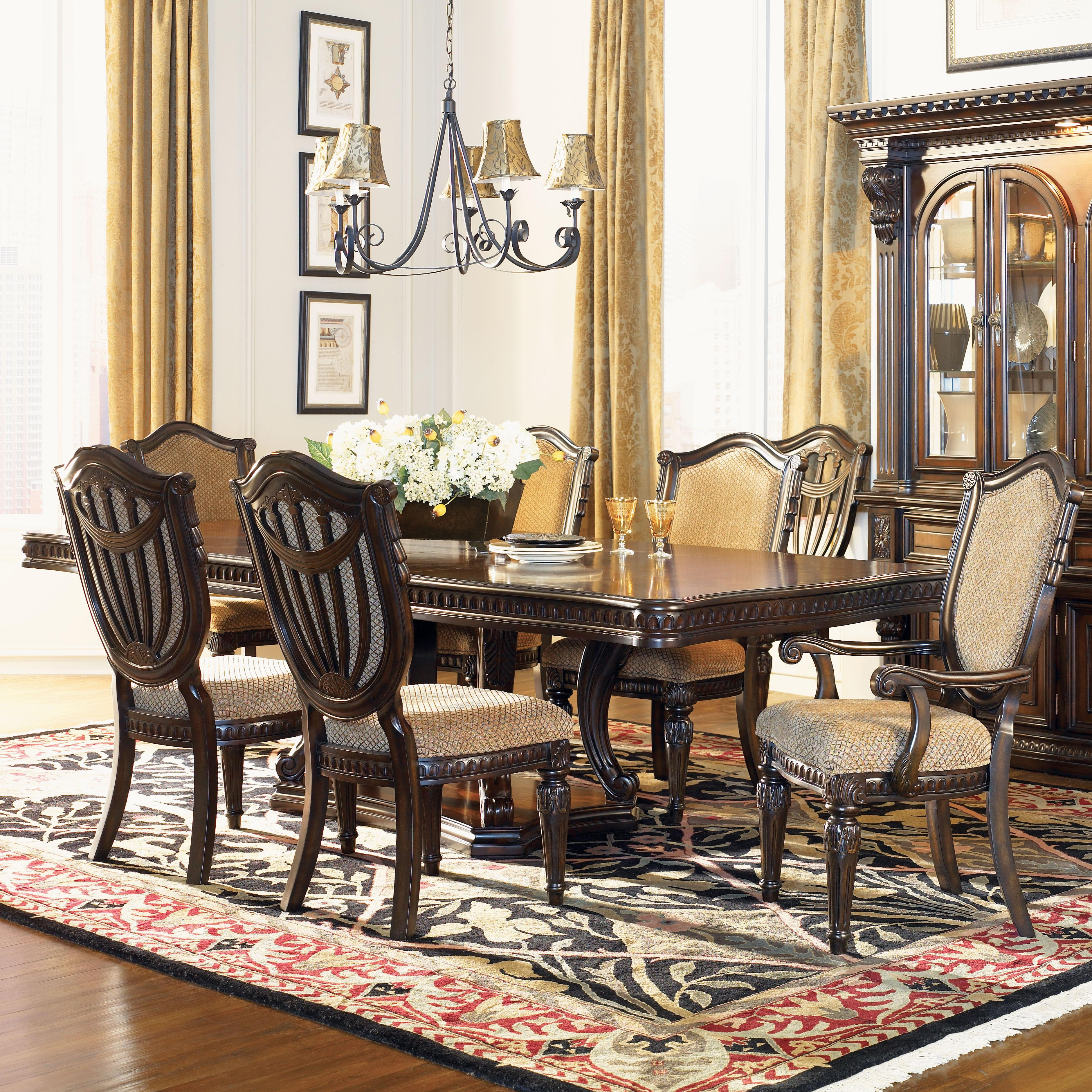 Fairmont Designs Grand Estates 7 Piece Table And Chair Set Dream Home Furniture Dining 7 Or