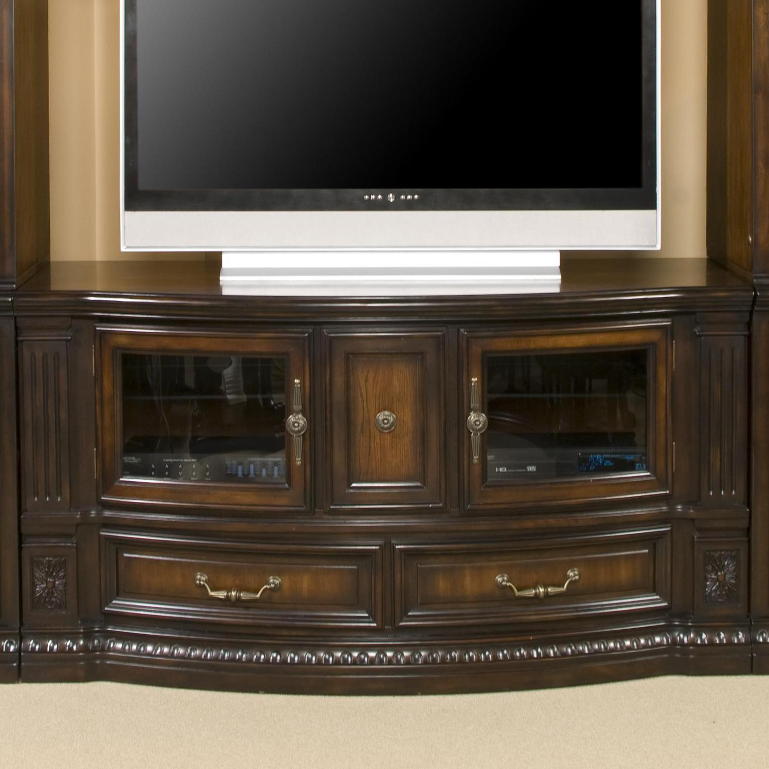 fairmont designs grand estates entertainment tv stand console royal furniture tv stands. Black Bedroom Furniture Sets. Home Design Ideas