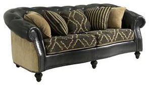 Klaussner Declan Traditional Sofa With Turned Feet Royal Furniture Sofas