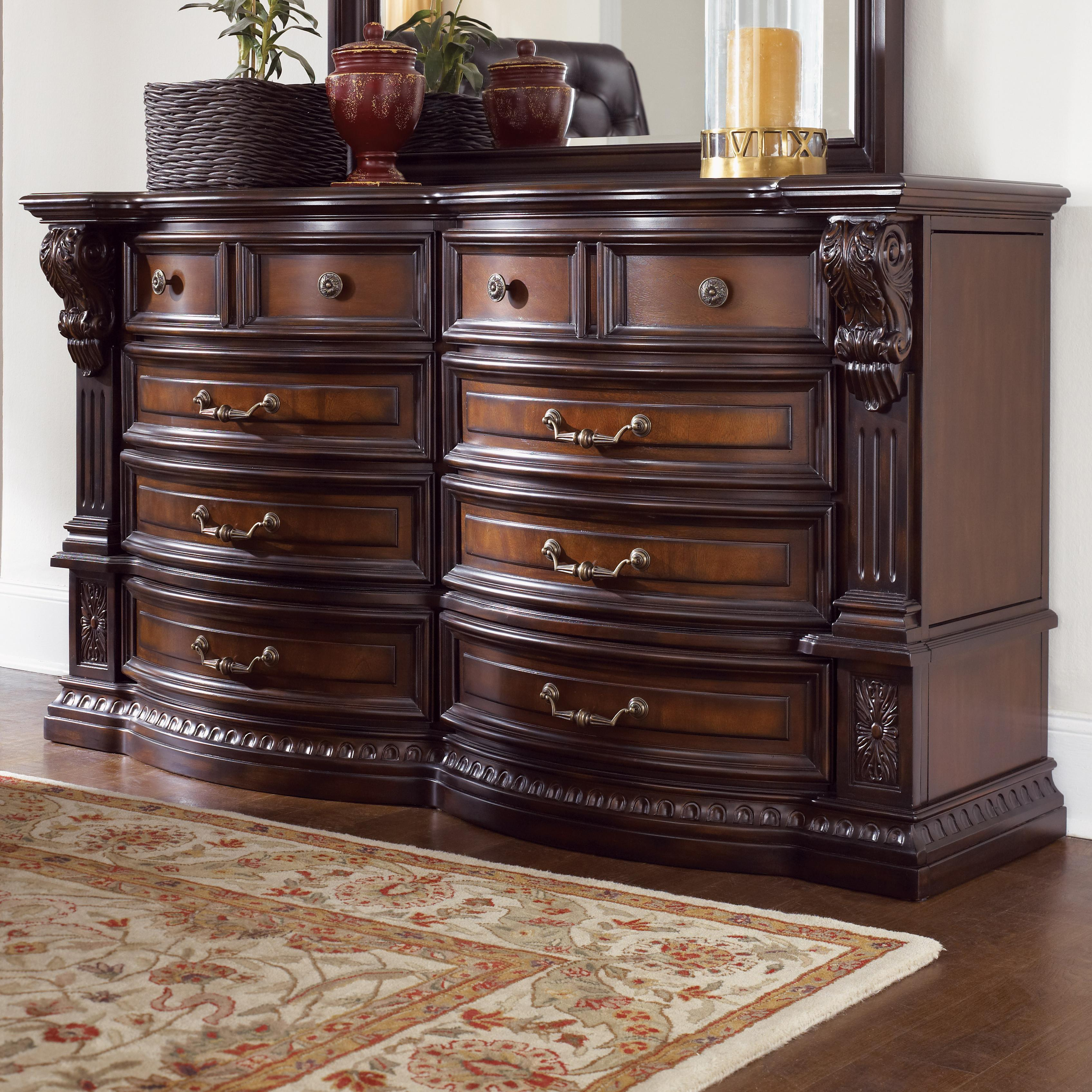 Fairmont Designs Grand Estates Dresser W 8 Drawers Royal Furniture Dressers