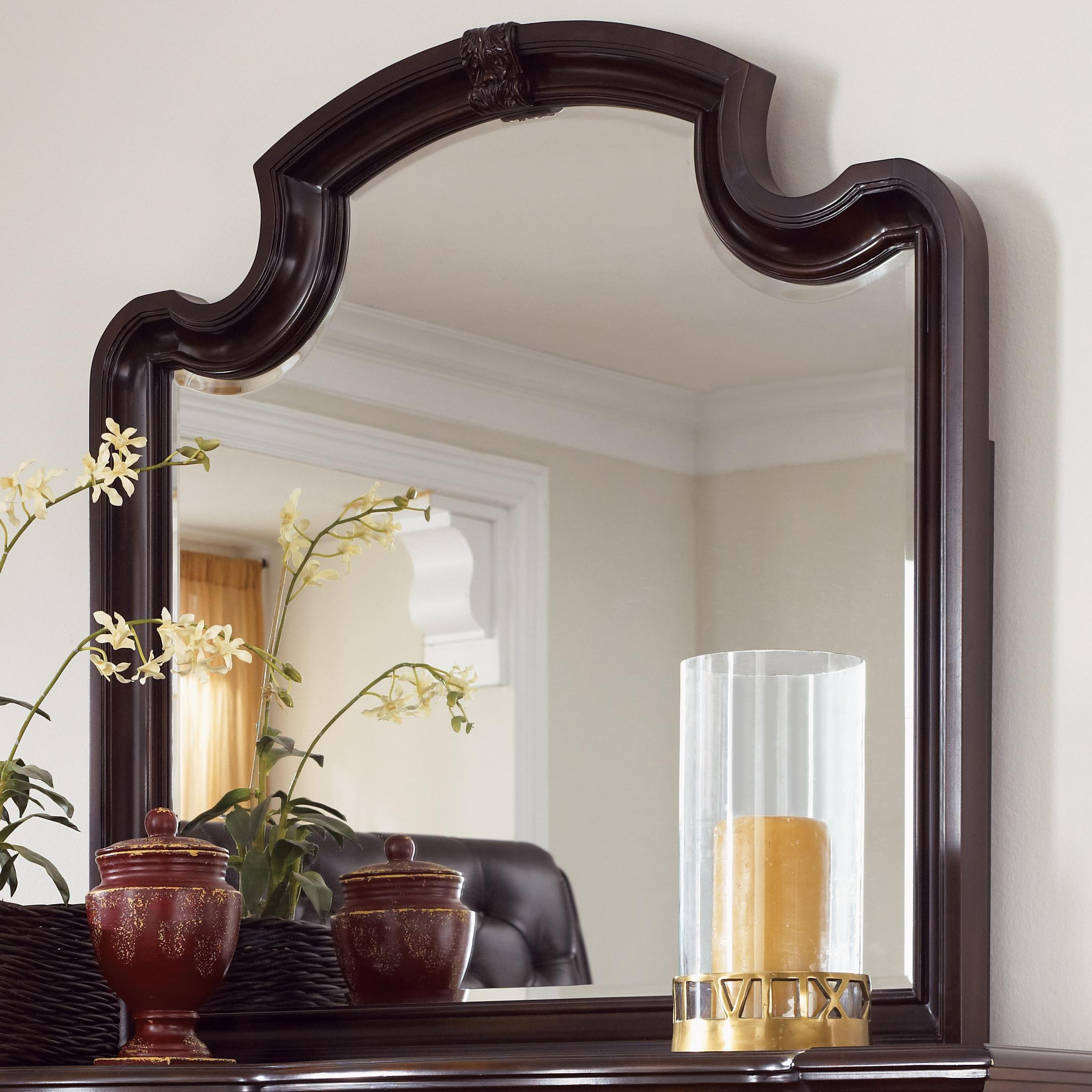 Fairmont Designs Grand Estates Landscape Mirror W Camel Arch Royal Furniture Dresser Mirrors