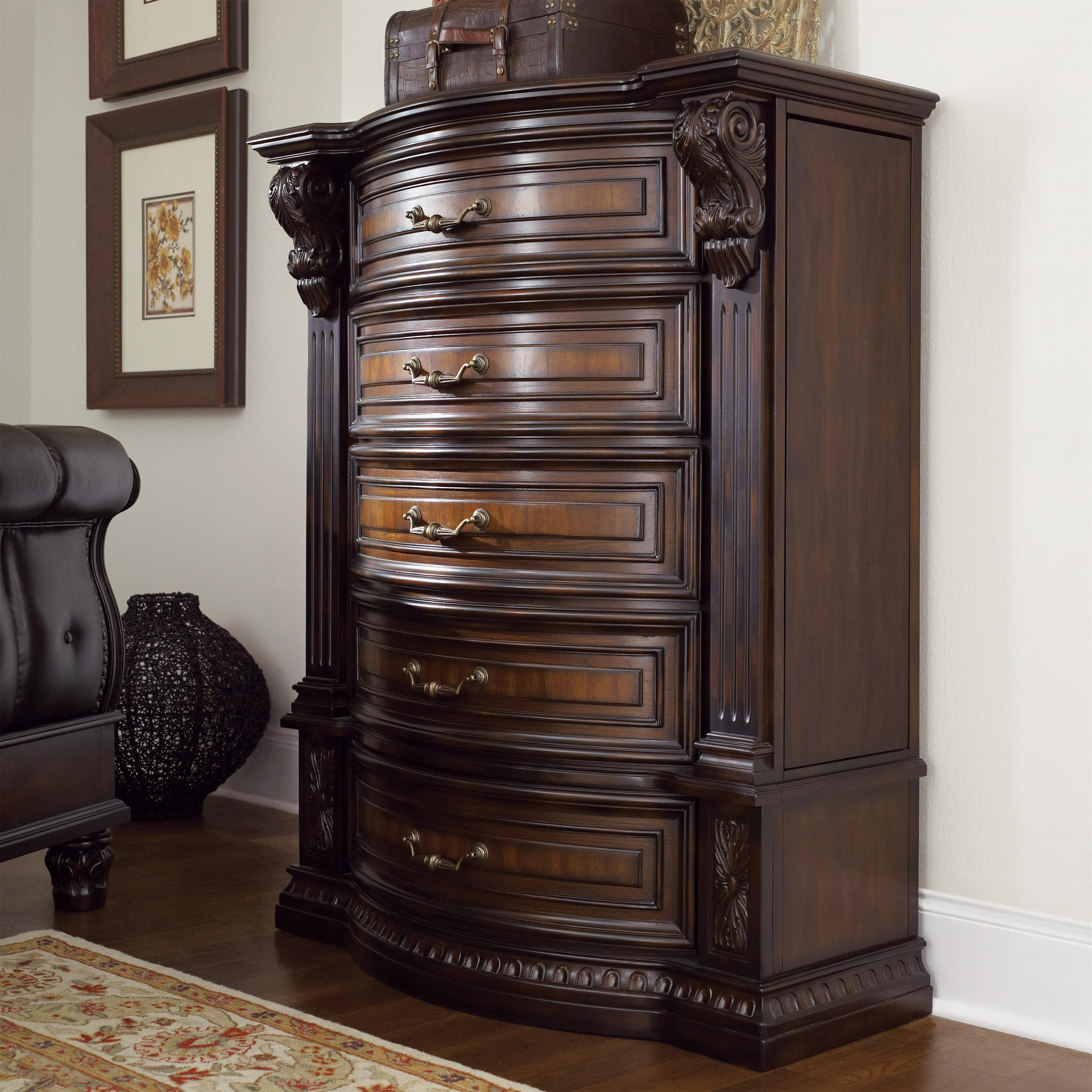 Fairmont Designs Grand Estates Chest W 5 Drawers Royal Furniture Drawer Chests