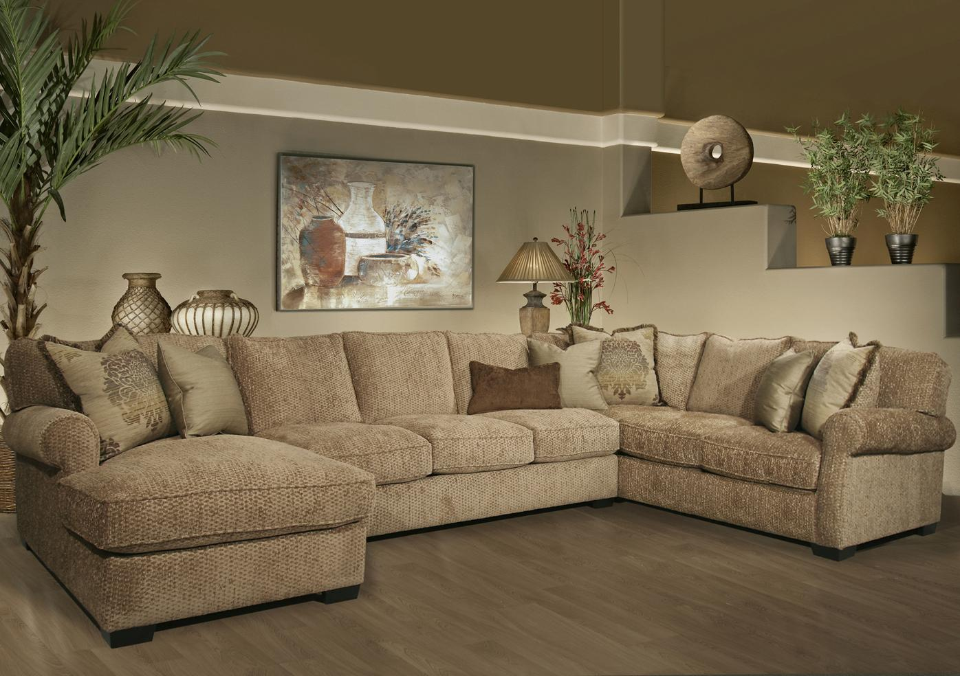 Fairmont designs rio grande 3 piece sectional dream home for Bedroom furniture 30144