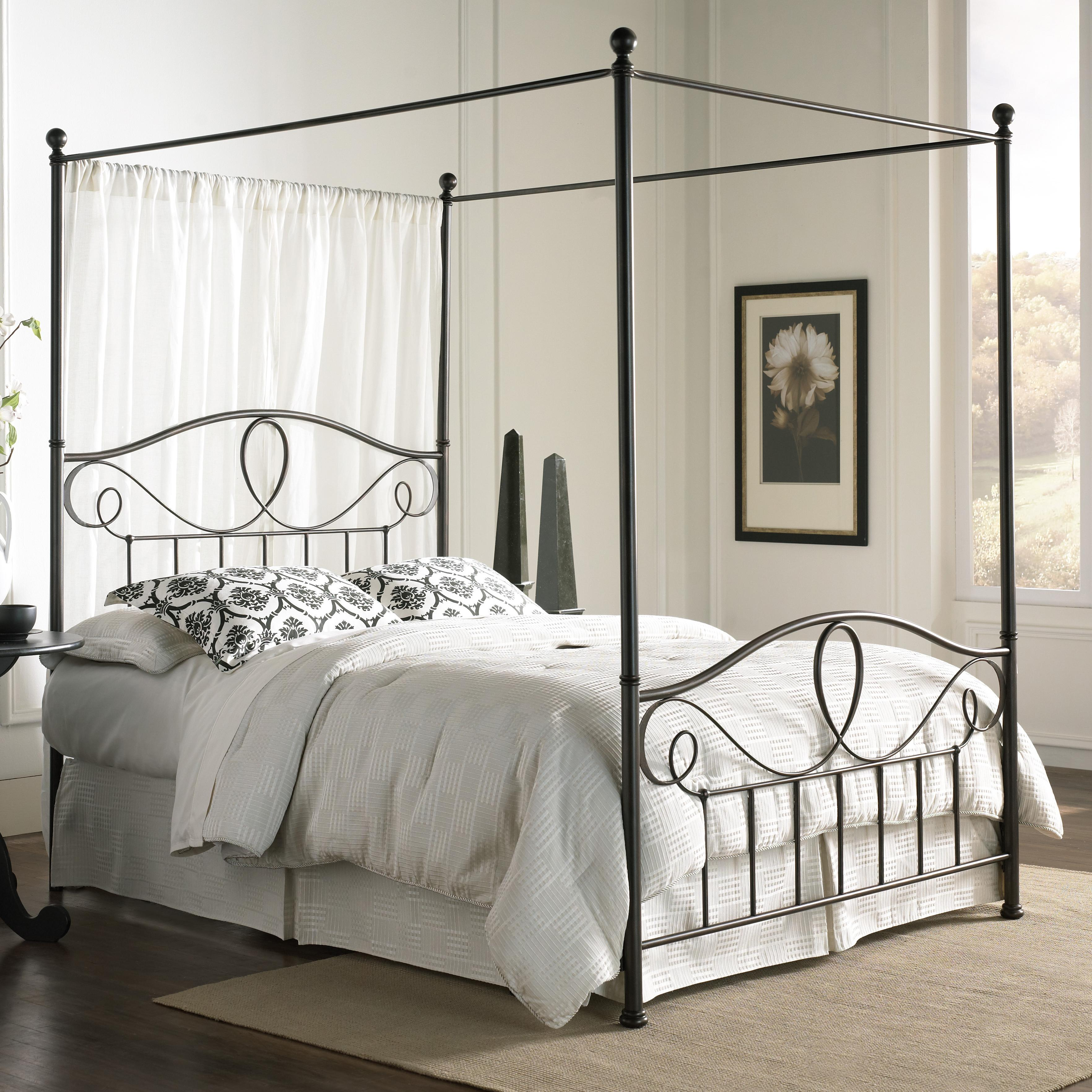 Fashion Bed Group Canopy Beds Full Sylvania Canopy Bed: short canopy bed