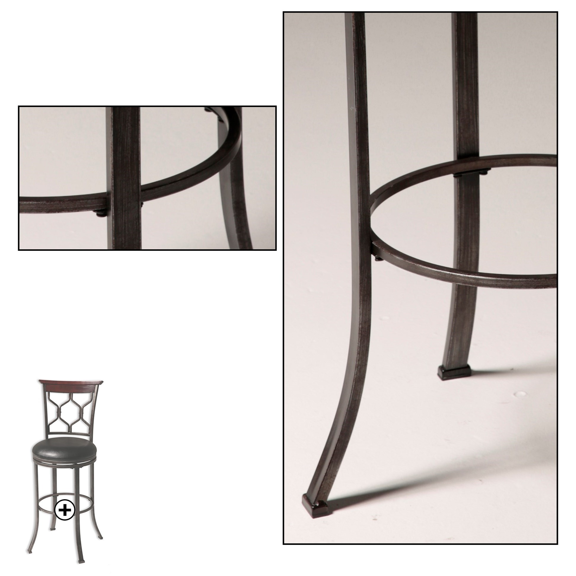 Fashion Bed Group Metal Barstools C1x046 Contemporary