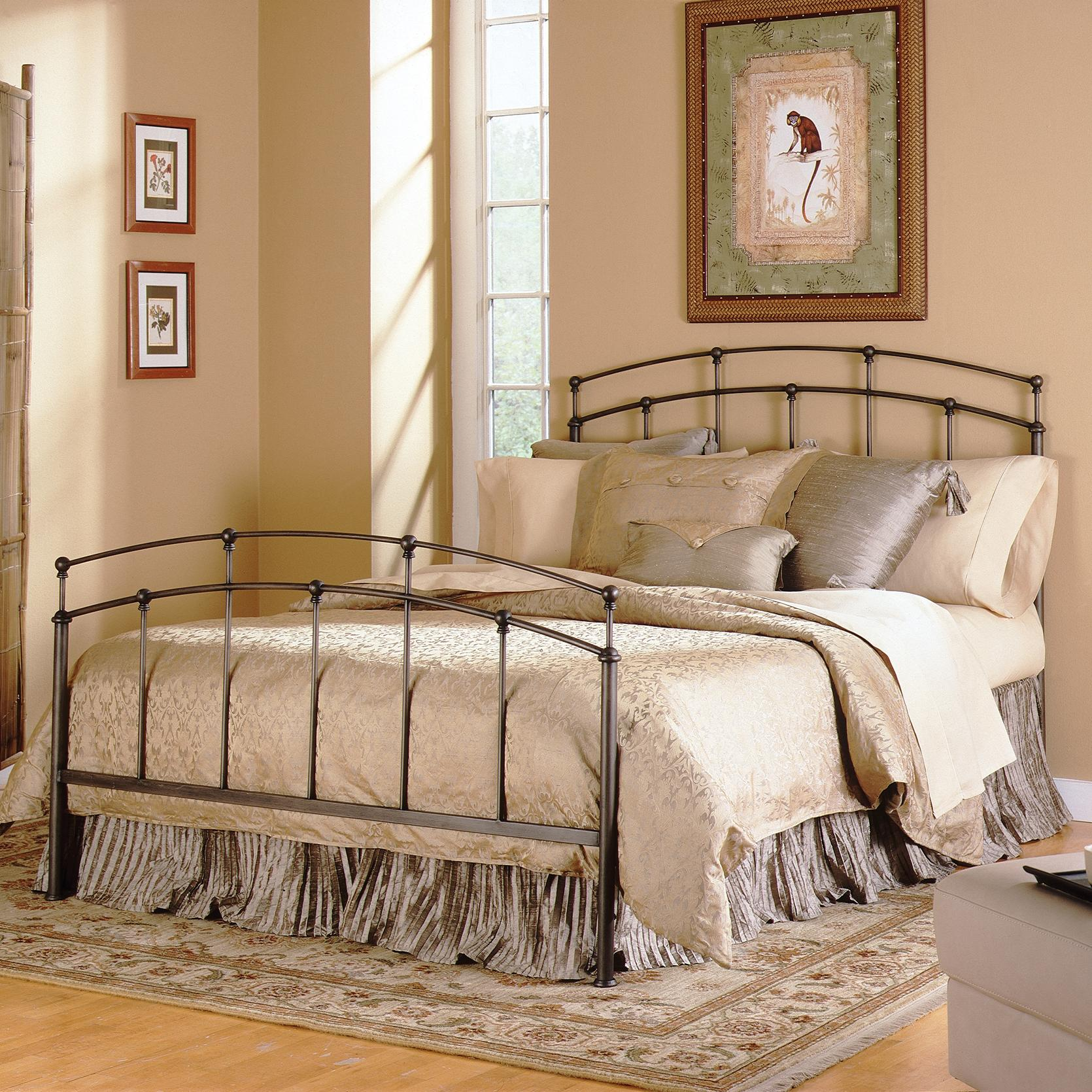 Fashion Bed Group Metal Beds Queen Fenton Duo Panel