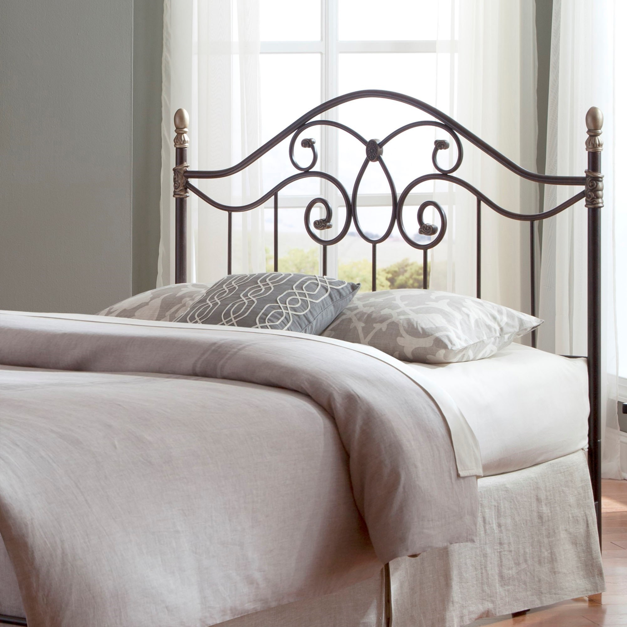 Fashion bed group metal beds california king traditional for California king headboard
