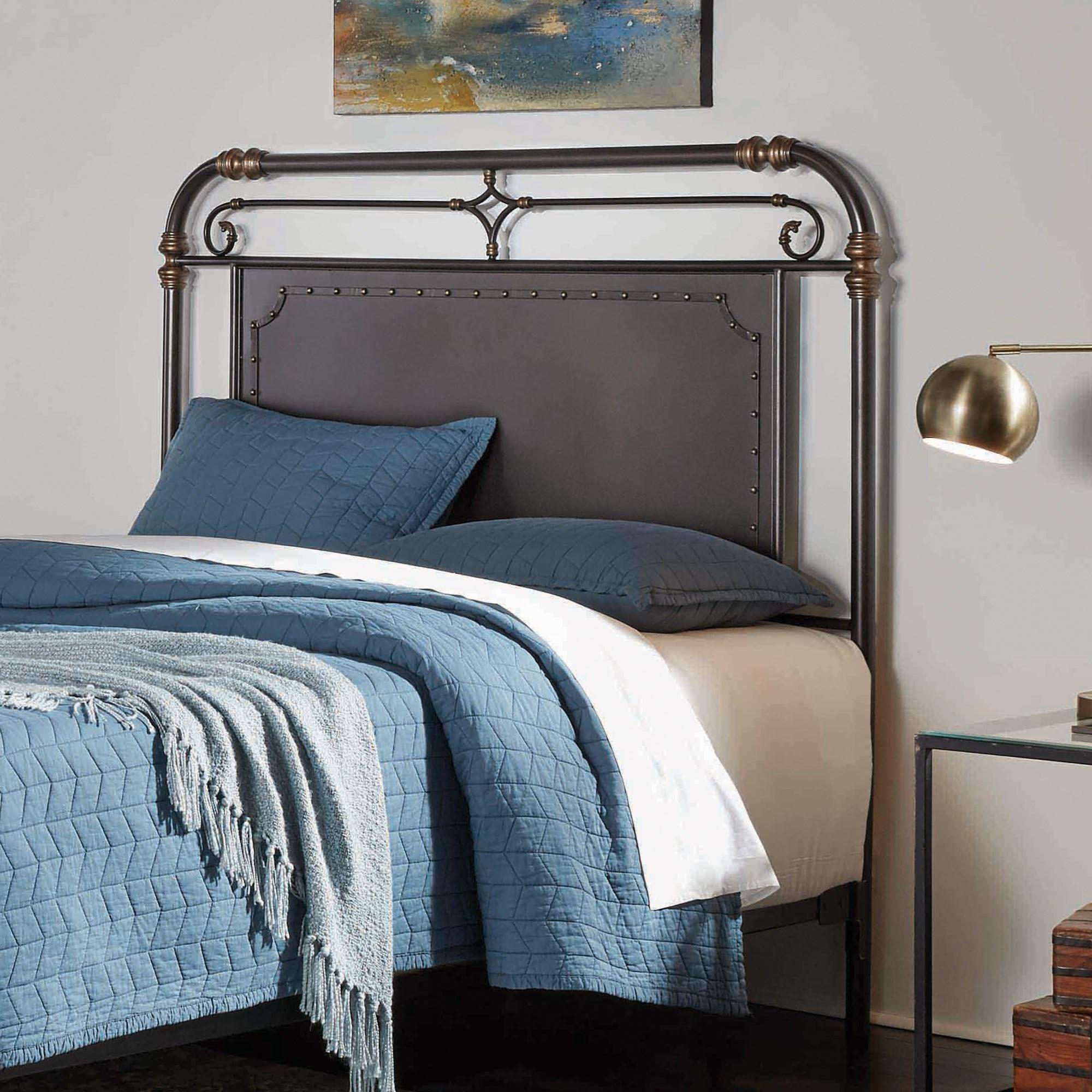 Fashion Bed Group Westchester B12d45 Queen Westchester Metal Headboard Pilgrim Furniture City