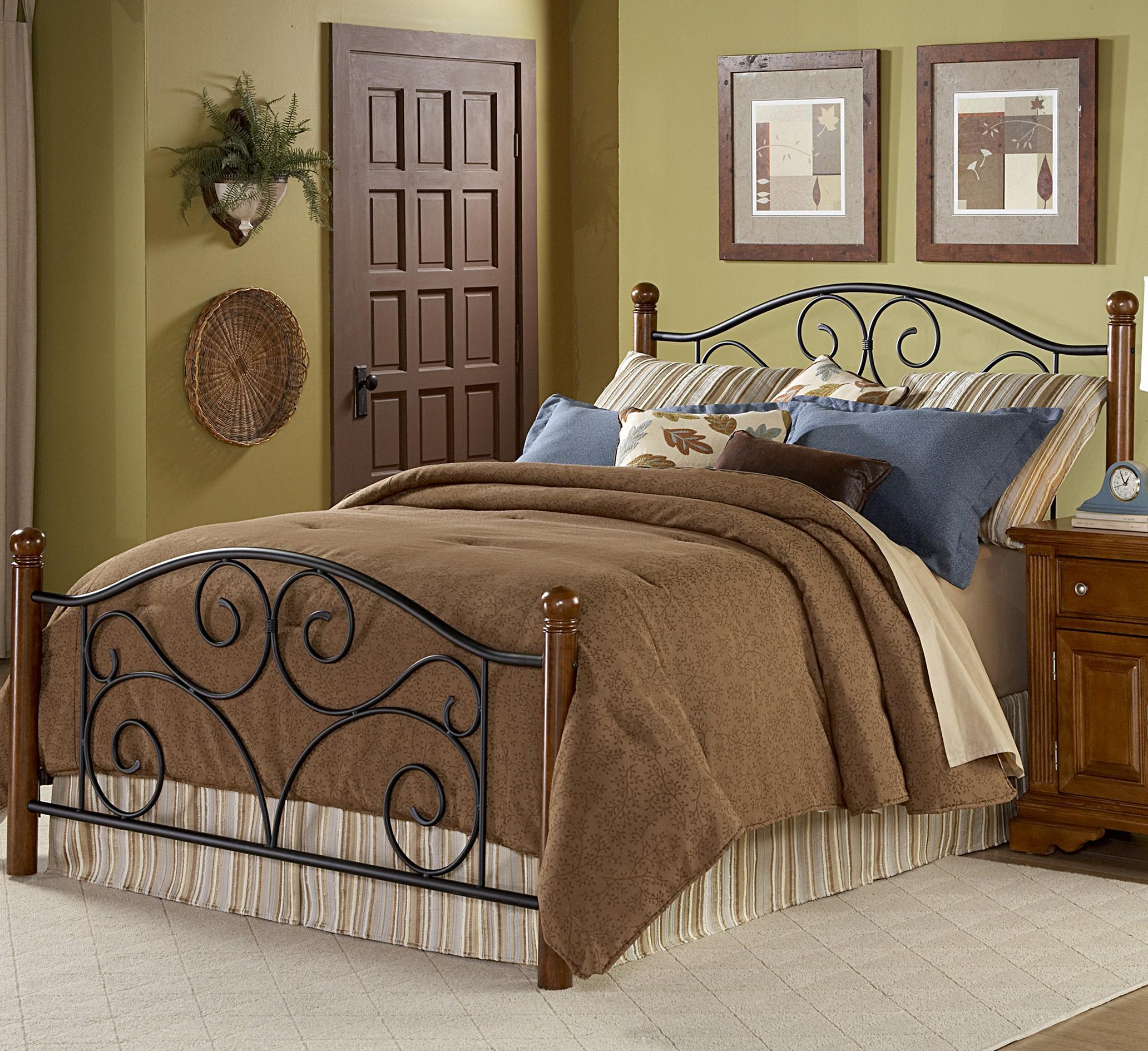 Queen Doral Bed w Frame
