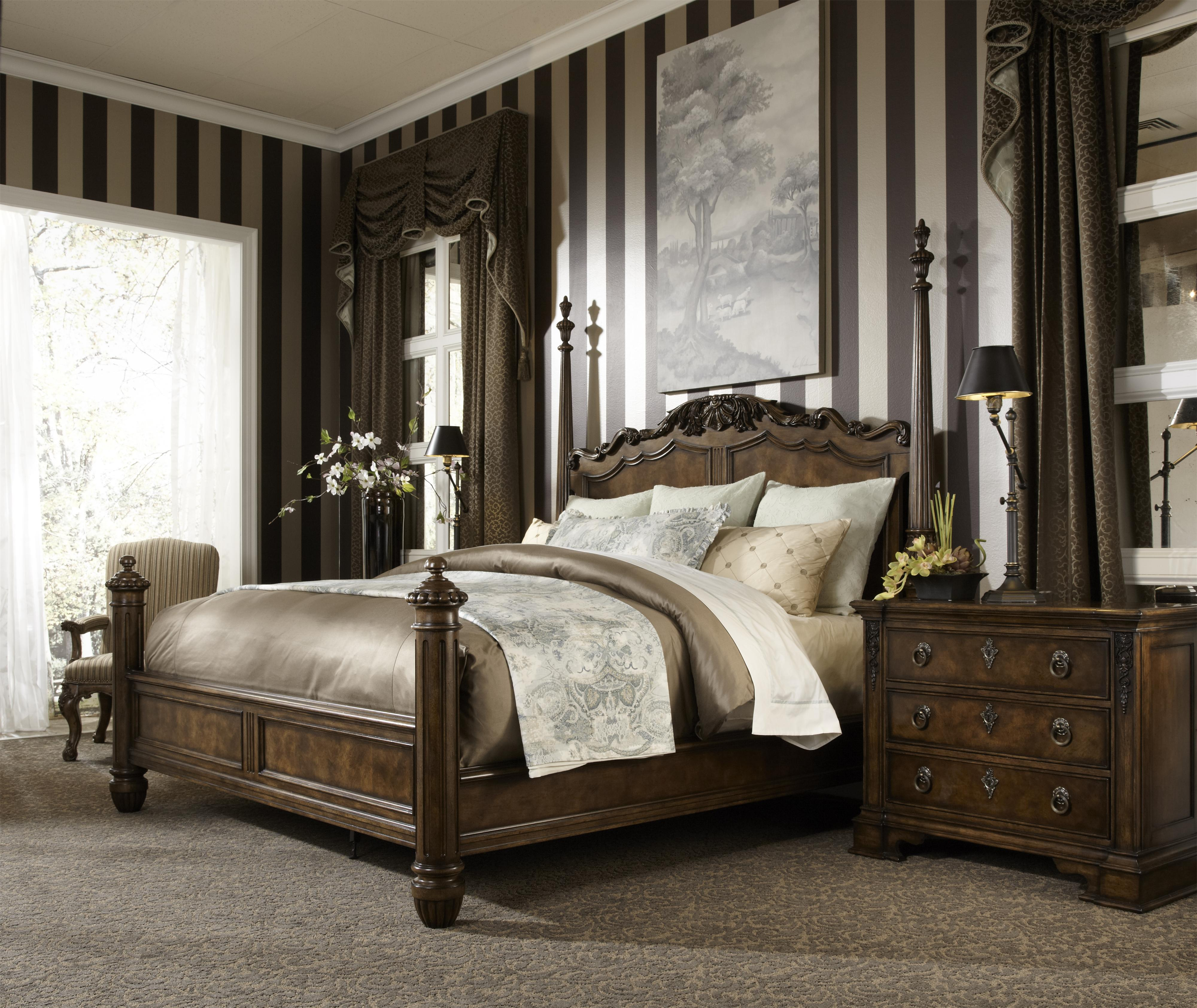 King four poster for Traditional four poster beds