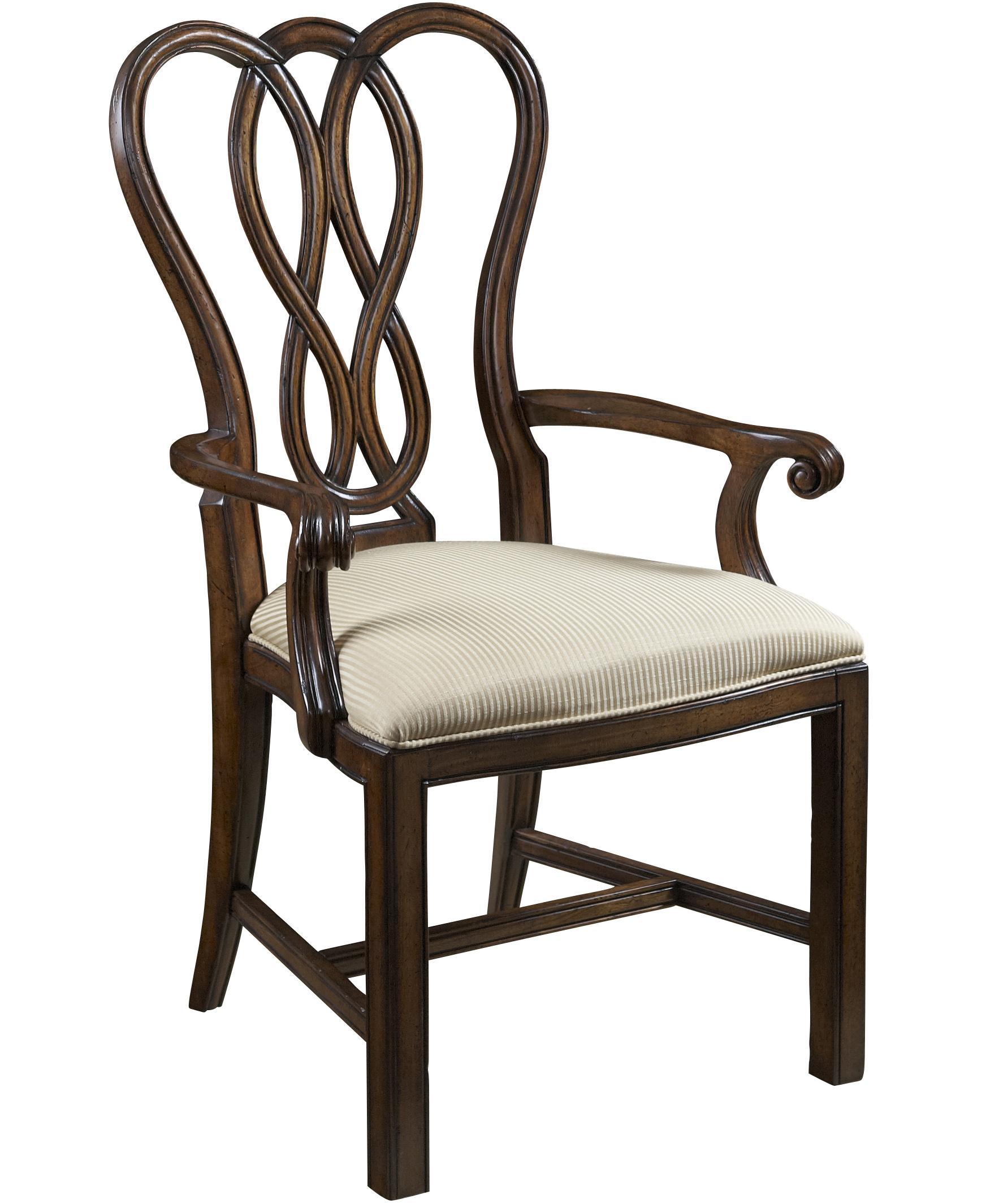 Fine furniture design hyde park 9 piece double pedestal for Park chair design