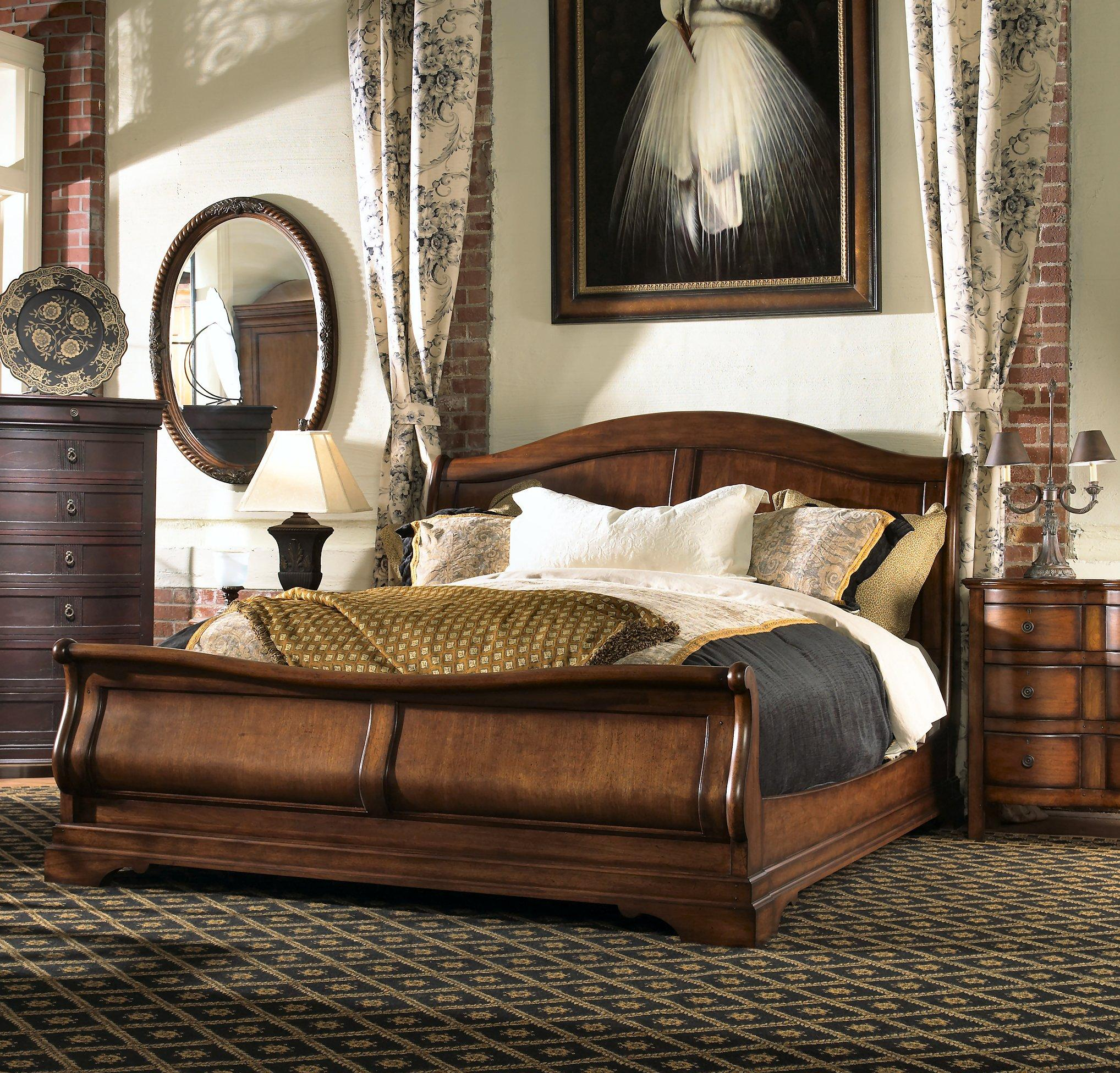 California king sleigh bed for King sleigh bed bedroom sets