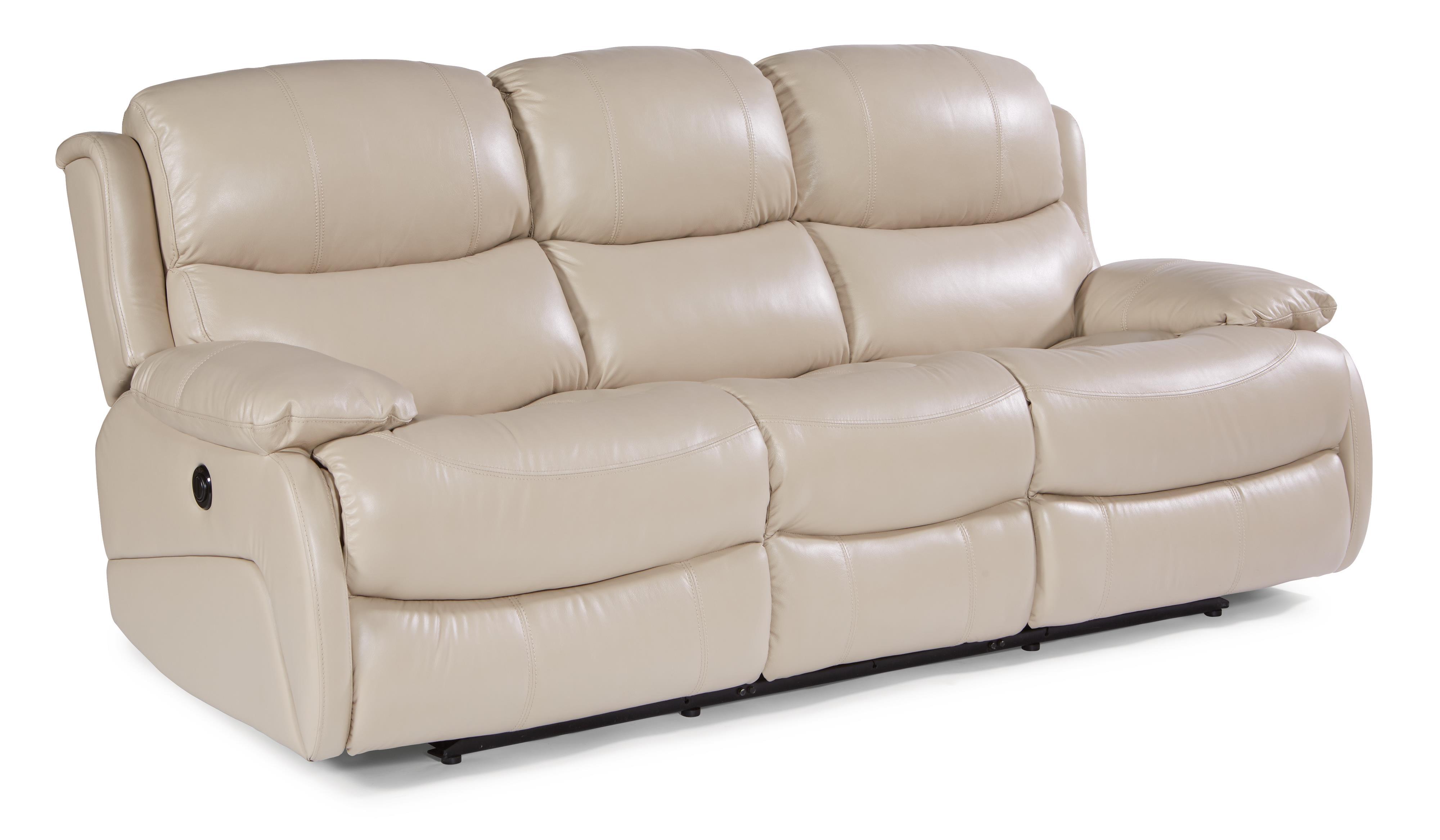 Flexsteel latitudes amsterdam power double reclining sofa reeds furniture reclining sofas - Sofa reclinable ...
