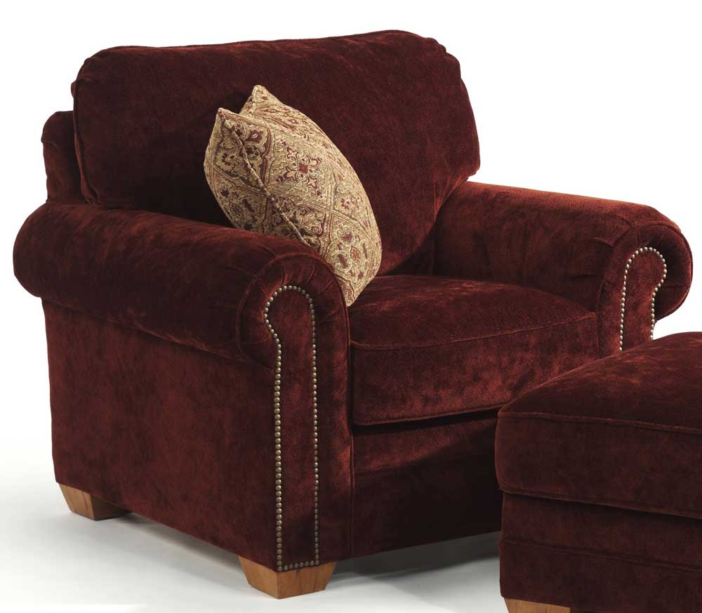 Flexsteel harrison upholstered chair wayside furniture for Wayside furniture