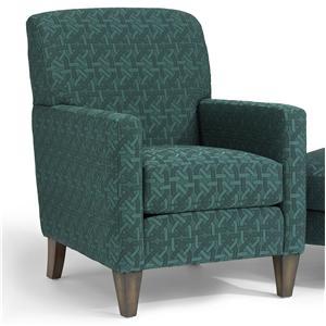 Flexsteel Accents Flemington Chair Amp Ottoman Steger S