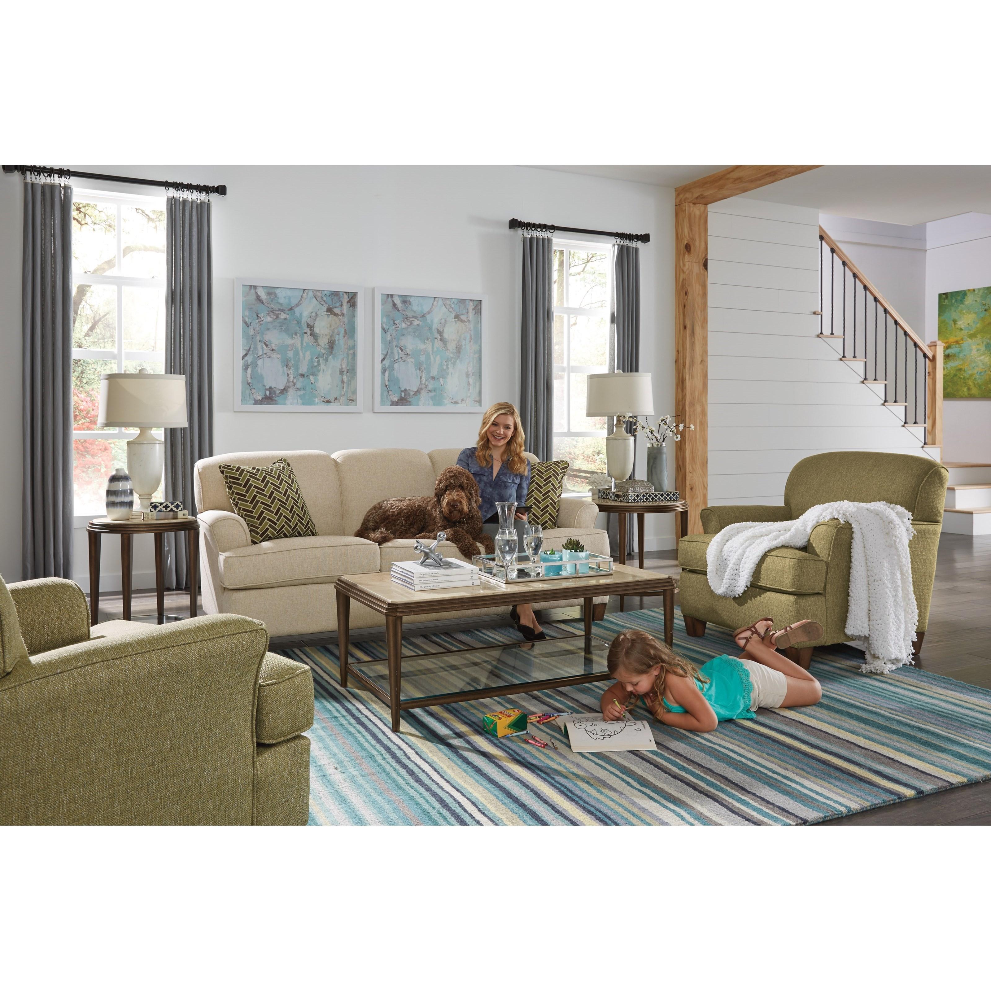 Flexsteel Atlantis Living Room Group Olinde 39 S Furniture Upholstery Group