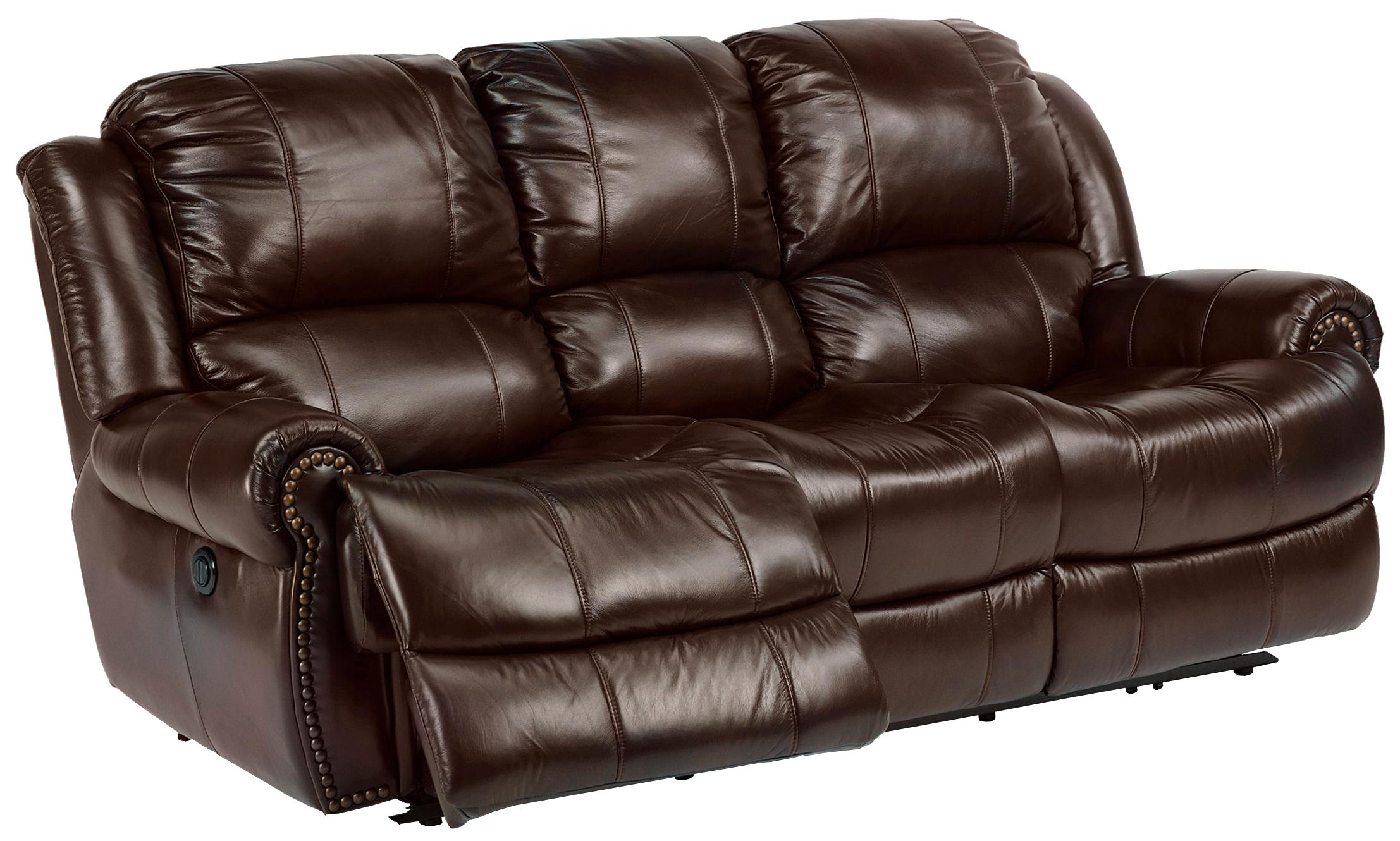 Power Reclining Sofa : Flexsteel latitudes capitol power reclining sofa with