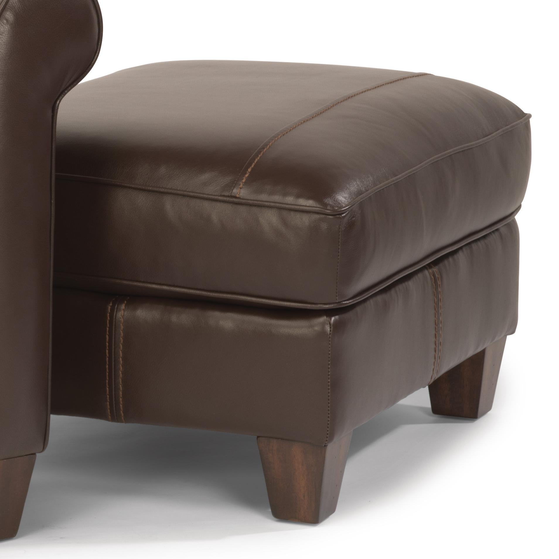 Flexsteel Dana Upholstered Ottoman Wayside Furniture