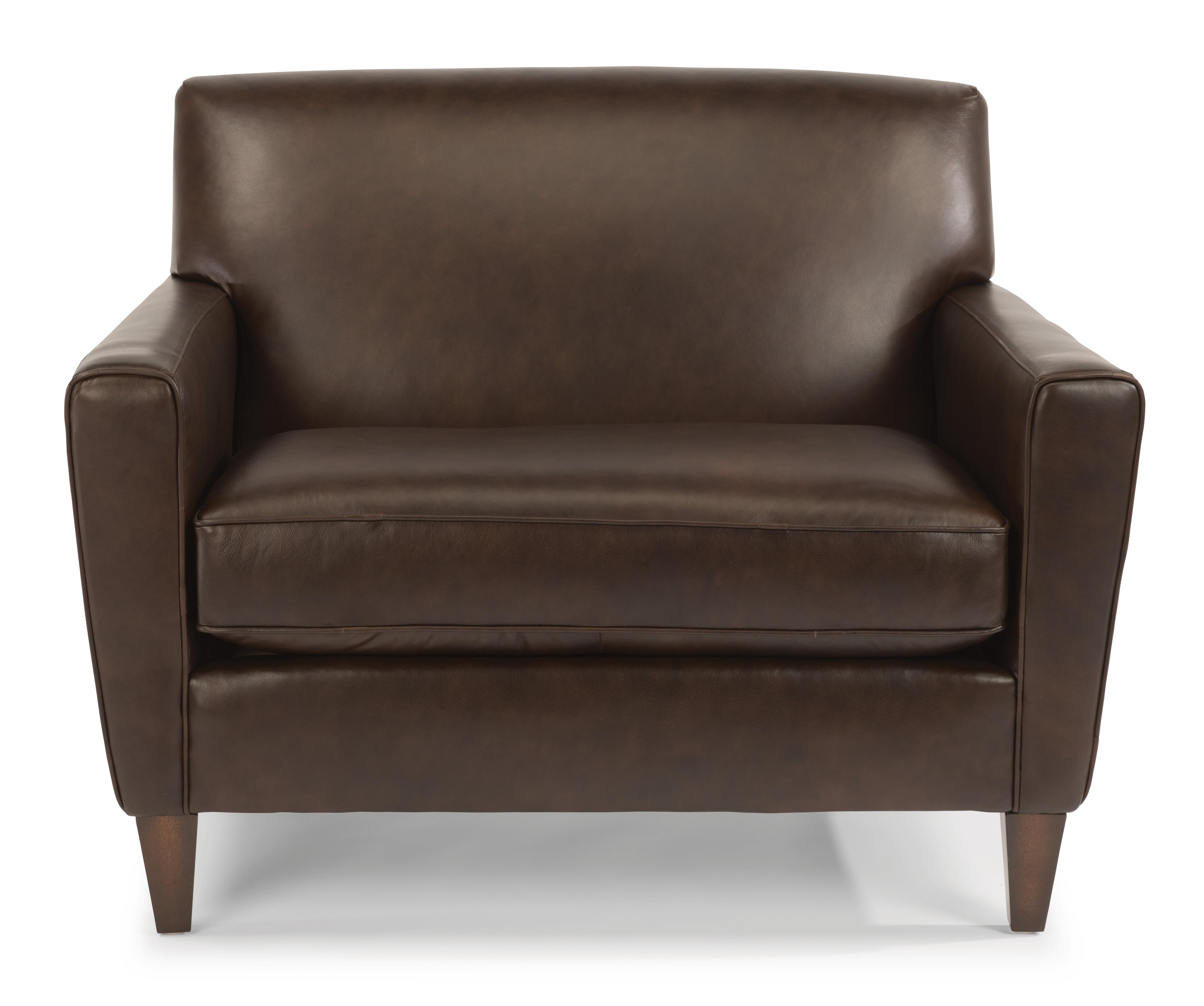 Flexsteel Digby Contemporary Chair And 1 2 Dunk Bright Furniture Ch