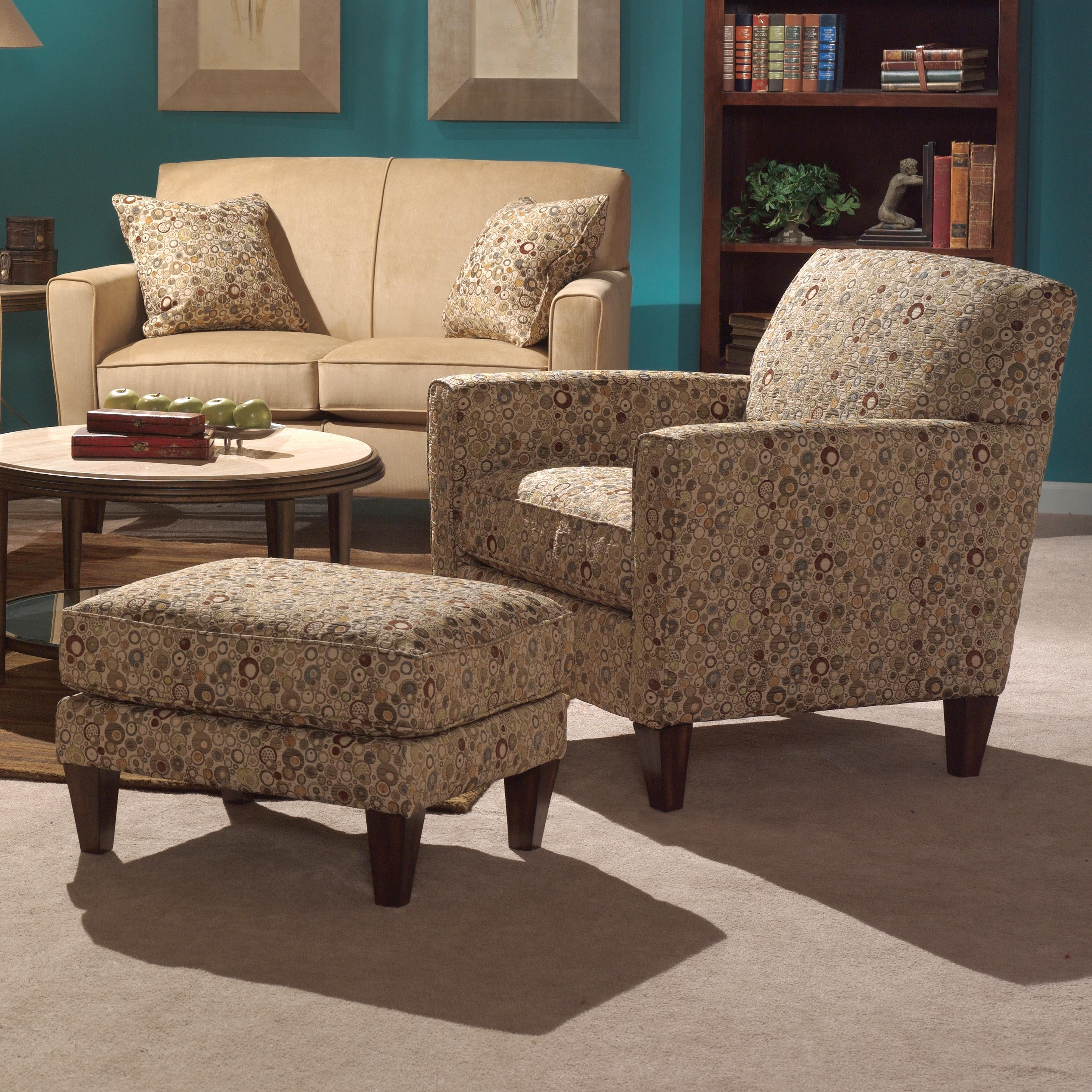 Flexsteel digby chair and ottoman set wayside furniture for Wayside furniture