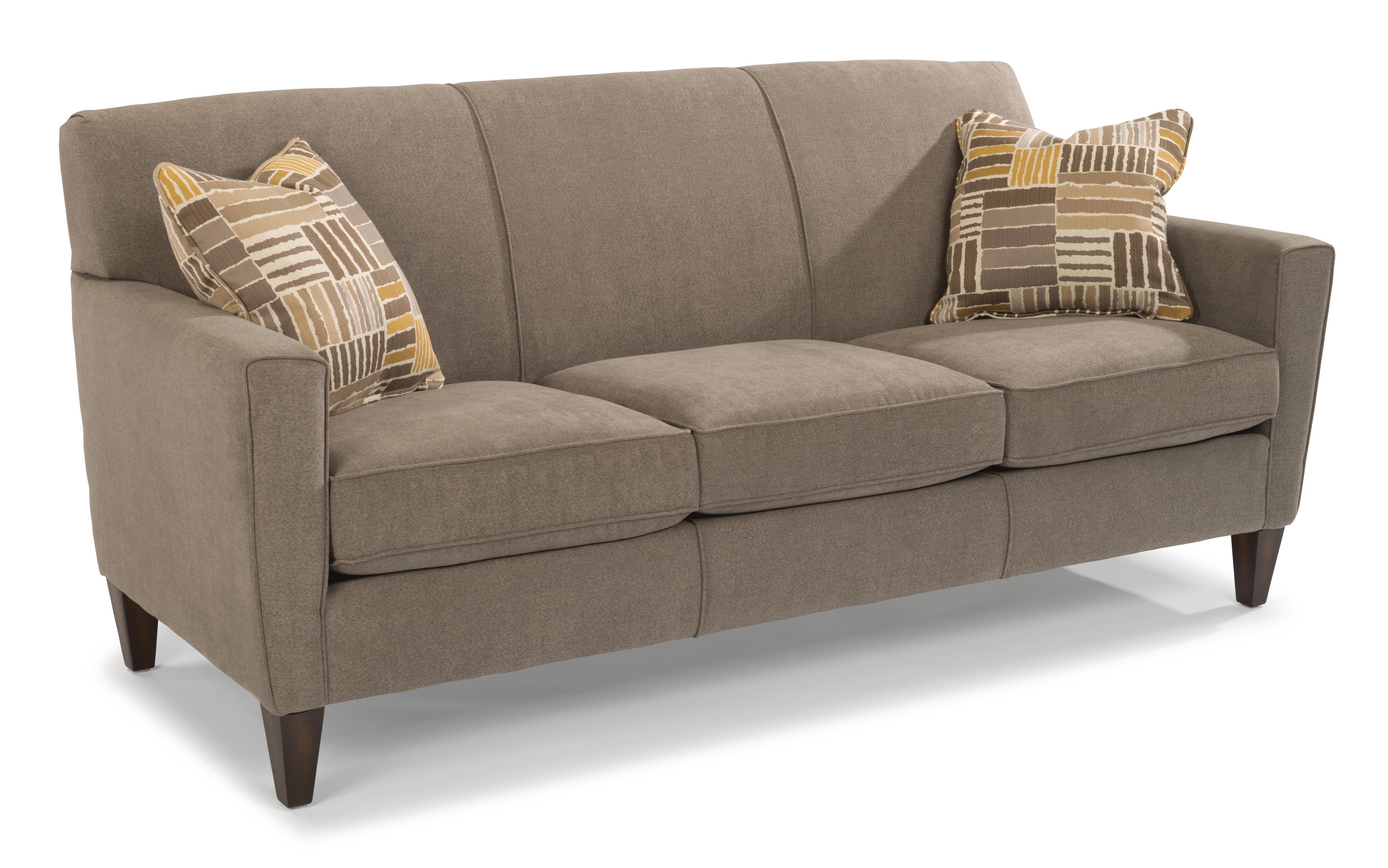 Flexsteel Digby Upholstered Sofa Fashion Furniture Sofas