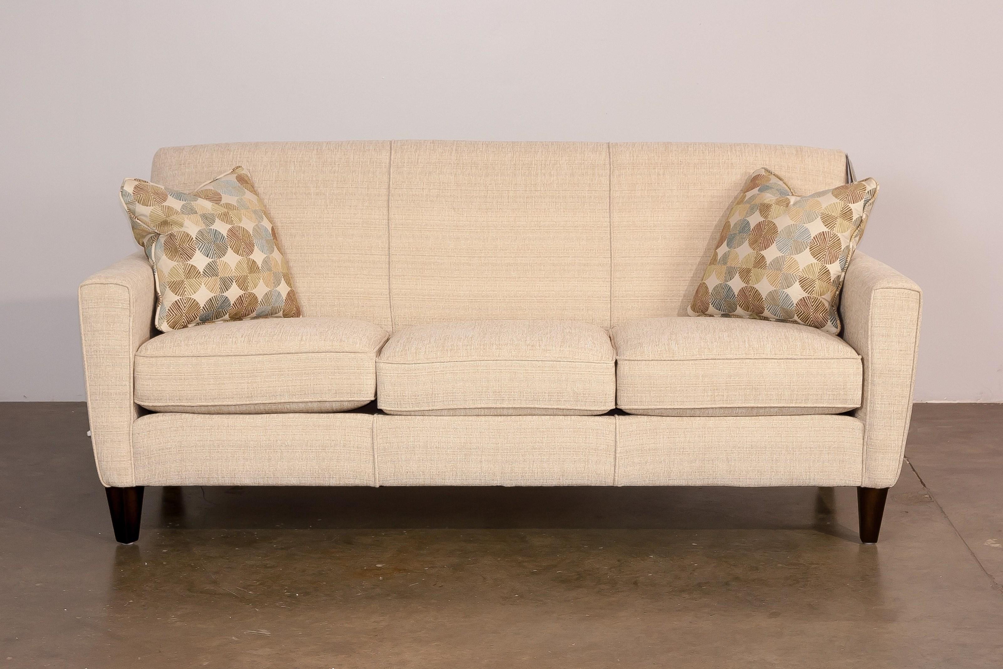 Flexsteel digby upholstered sofa hudson 39 s furniture sofa for Hudsons furniture